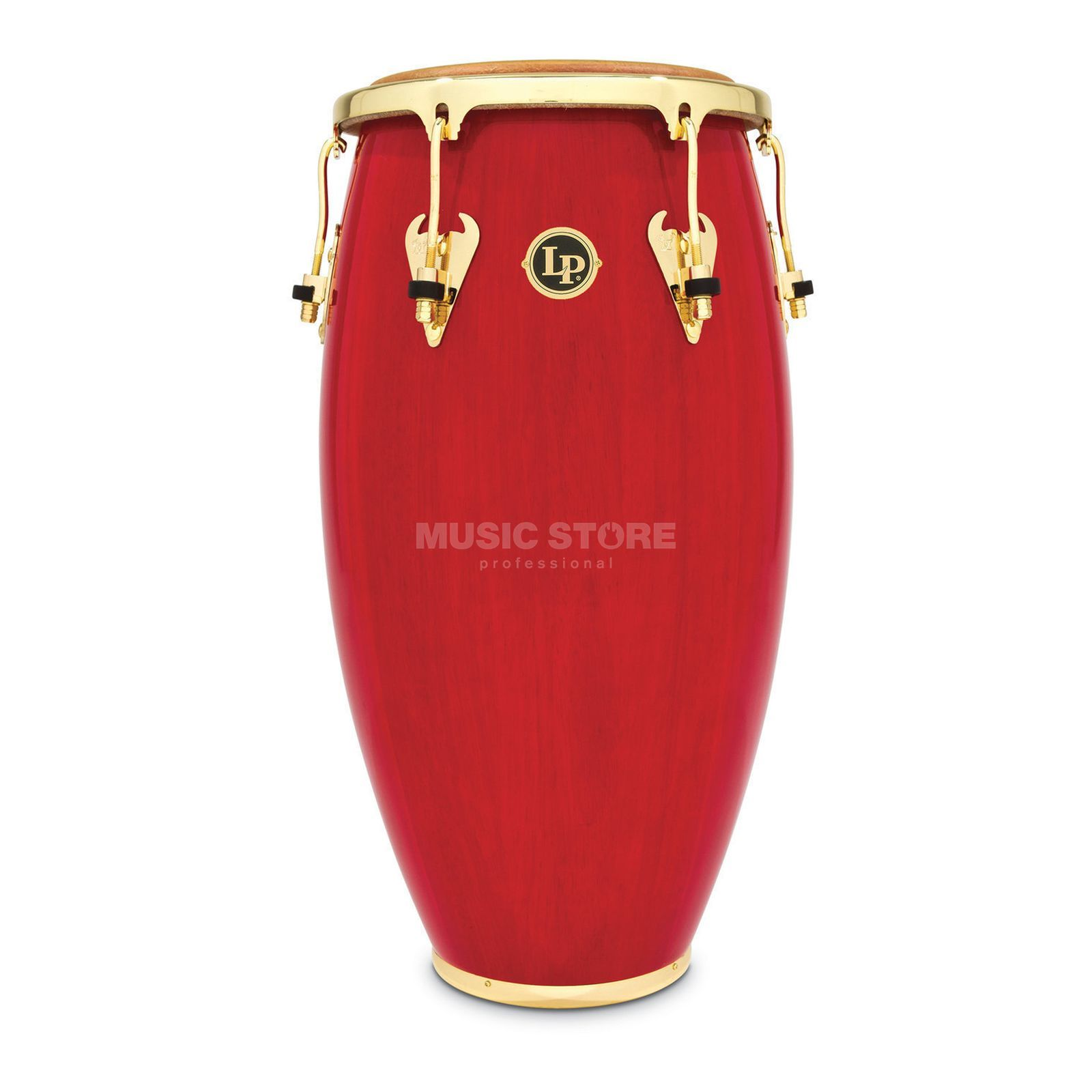 "Latin Percussion Matador Conga M750S-RW, 11"" Quinto, Red #RW Produktbillede"