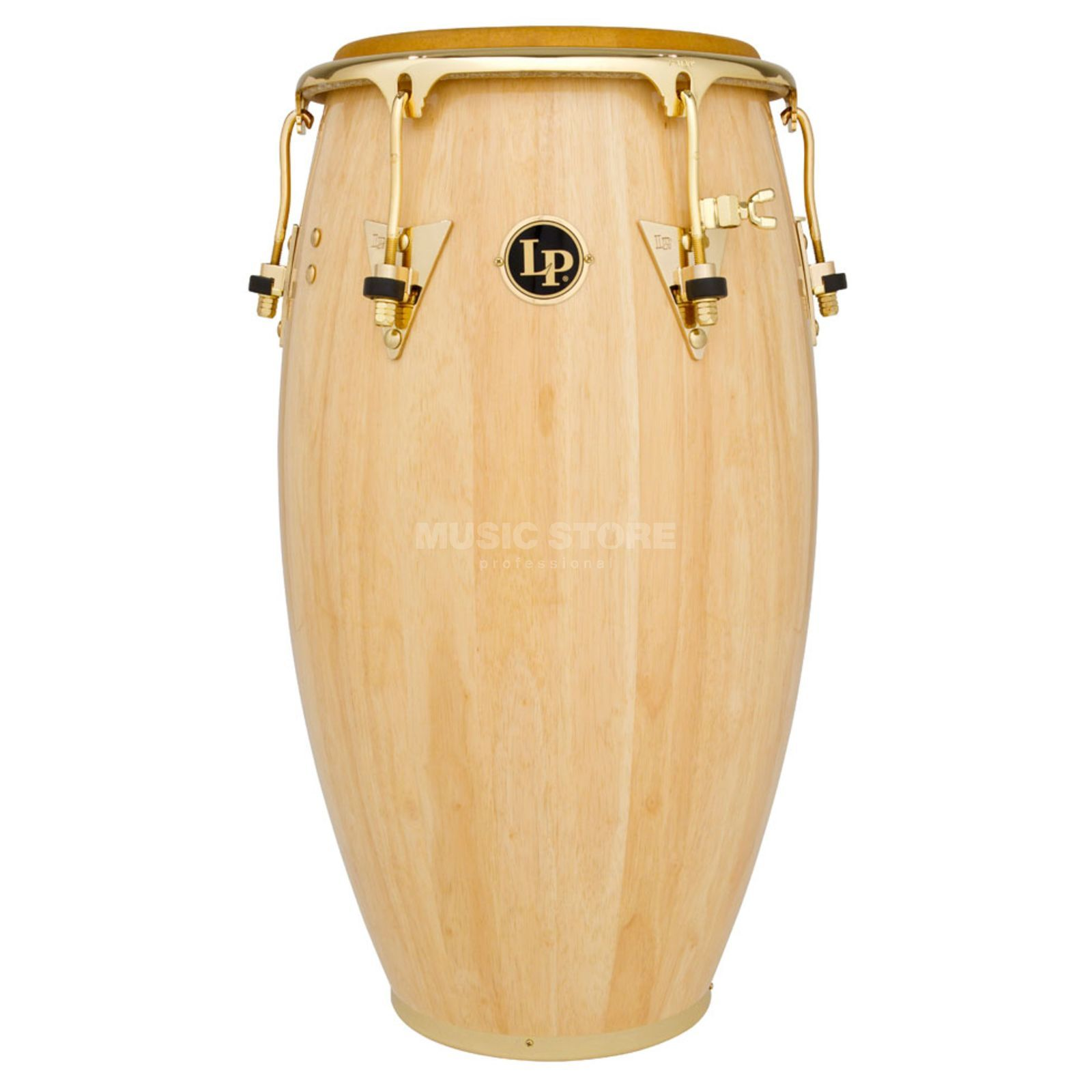 "Latin Percussion Salsa Conga LP252X-AW, 12-1/2"" Tumba, Gold HW Product Image"
