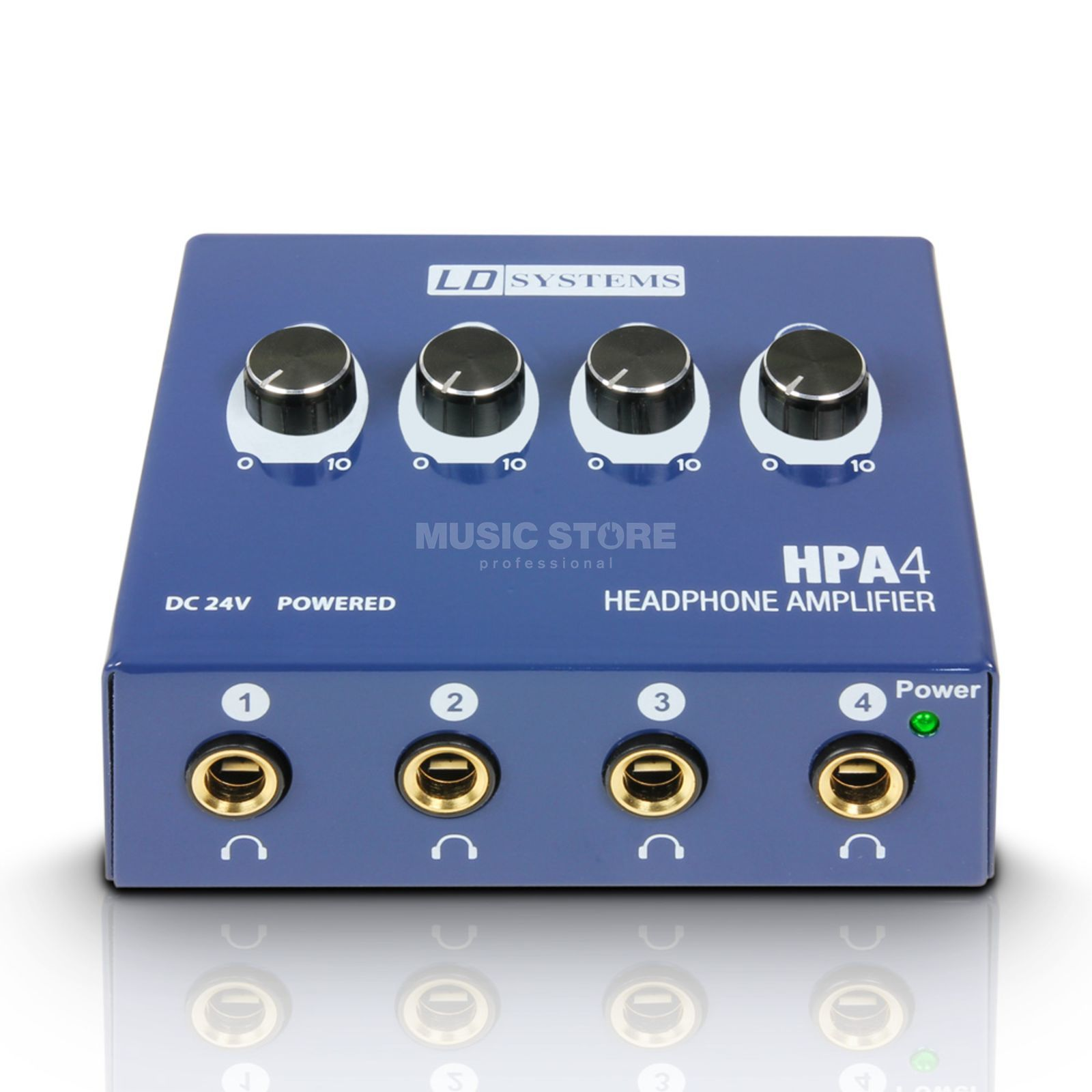 LD-Systems HPA4 4-Channel Headphone Preamp Produktbillede