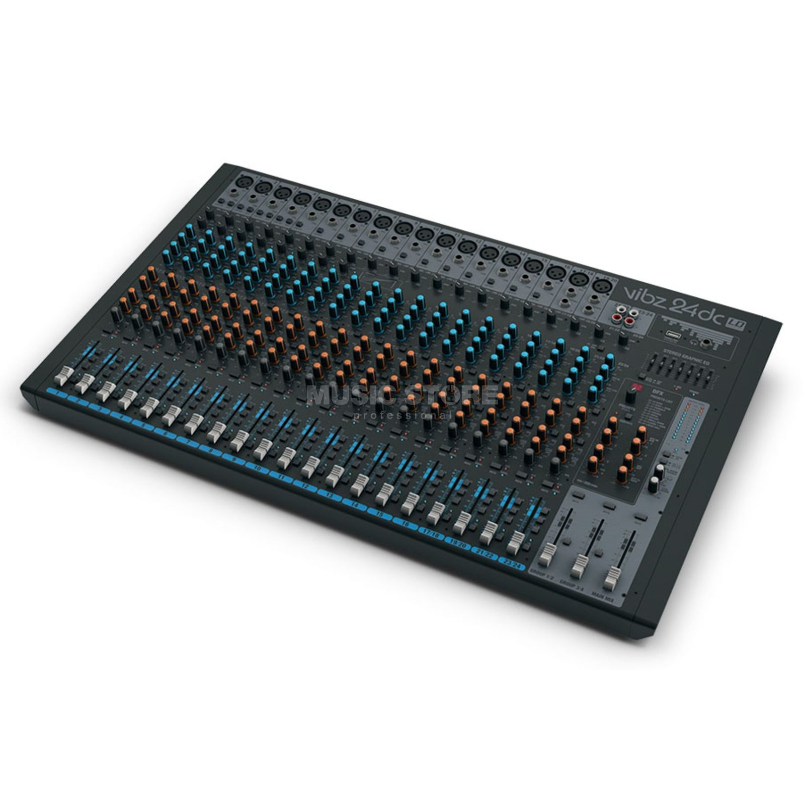 LD-Systems VIBZ 24 DC 24 Kanal Mixer Imagen del producto