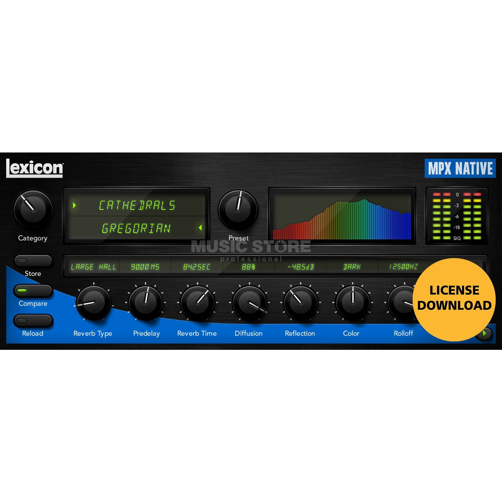 Lexicon MPX Native Reverb License Code Produktbild