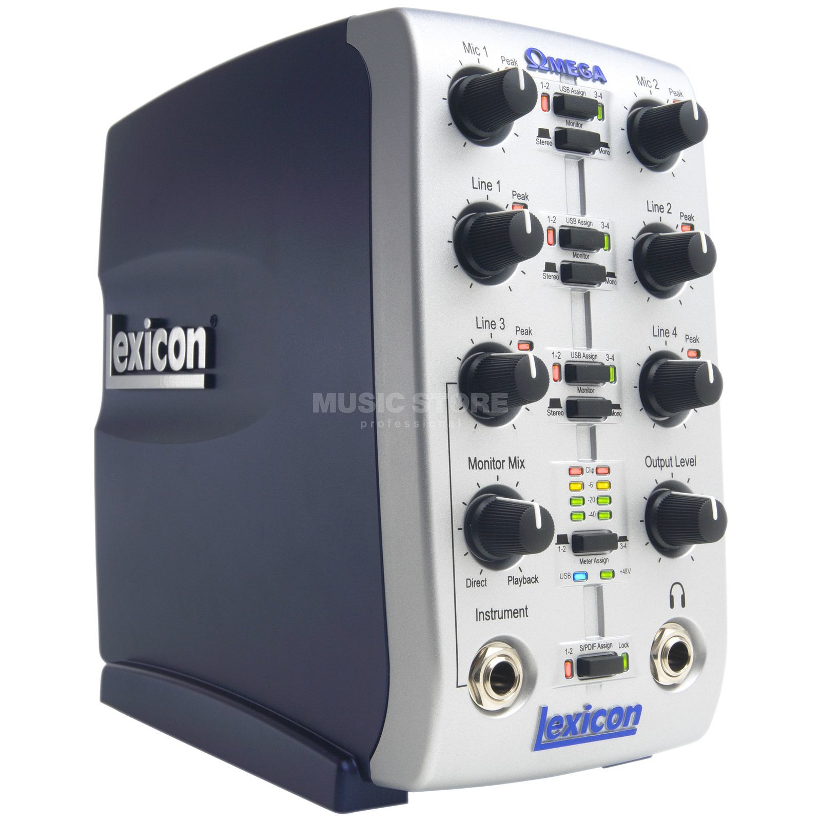 Lexicon Omega Desktop Recording Studio USB Audio Interface Produktbillede
