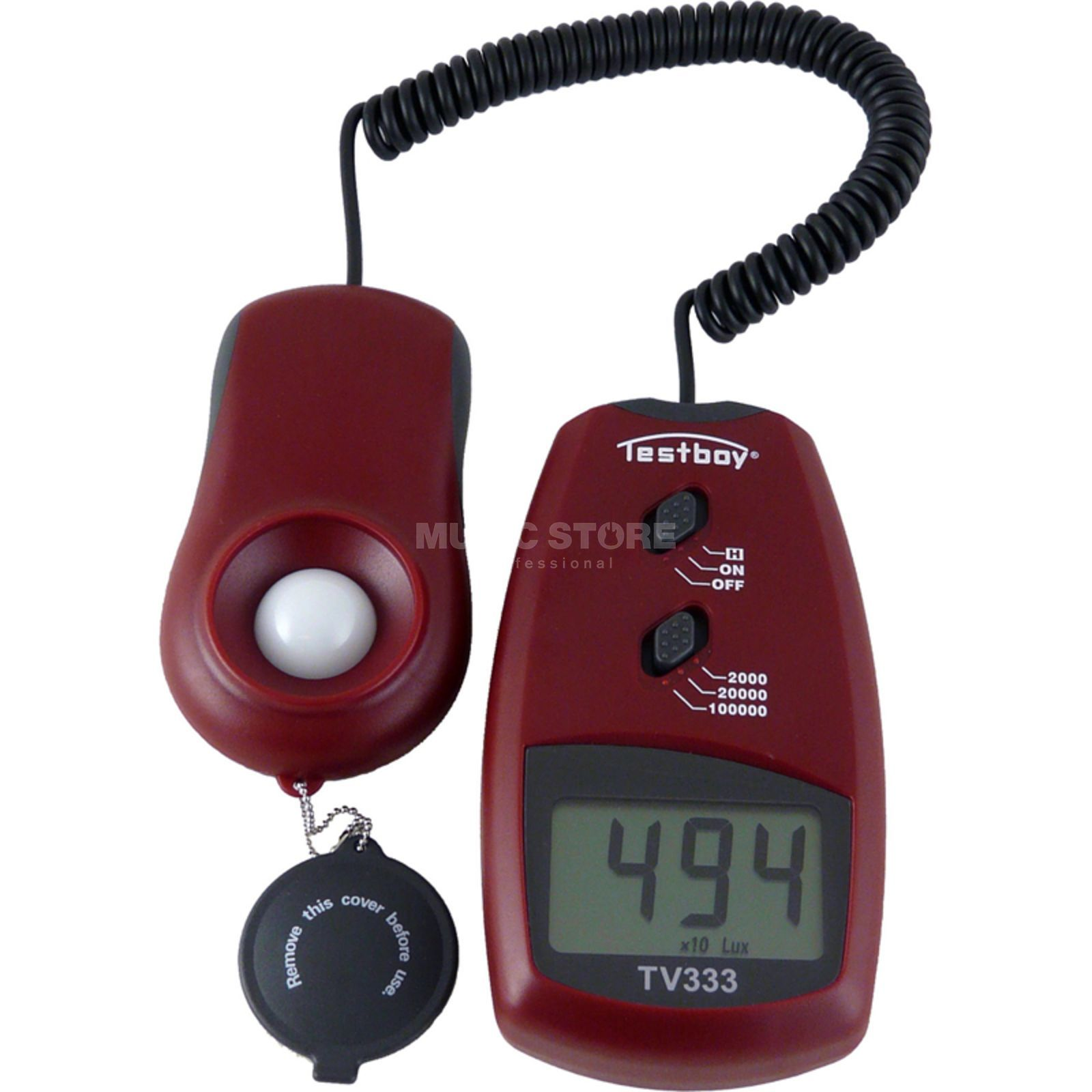 lightmaXX Digital Luxmeter  Produktbillede