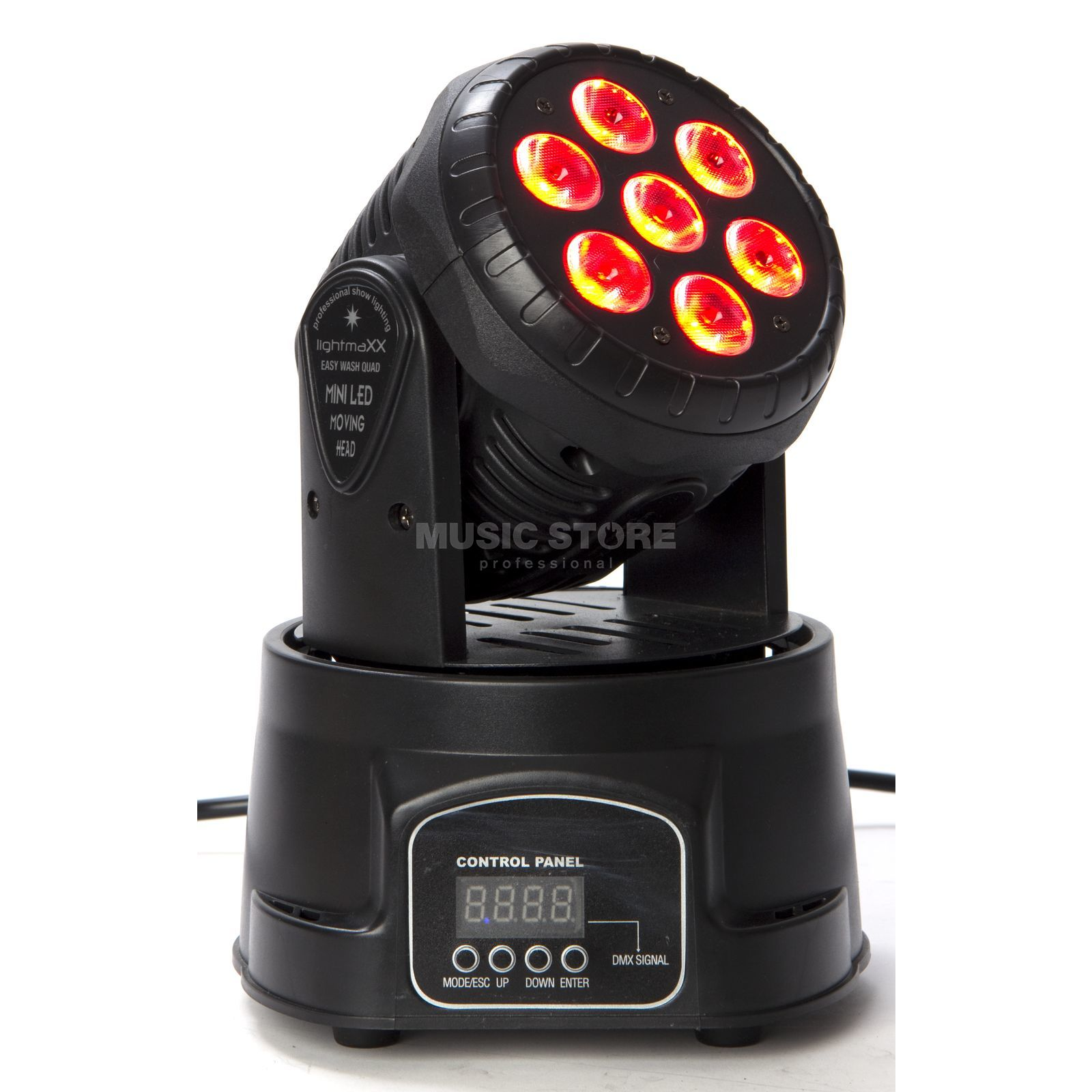 lightmaXX EASY WASH QUAD 7x10W QUAD, LED Moving Head Produktbild