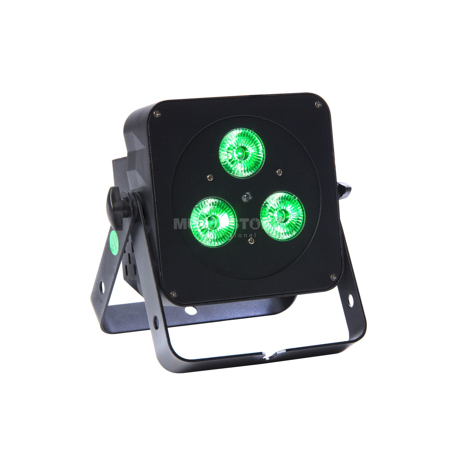 lightmaXX FLAT PAR MINI QUAD 3x5W RGBW, black, IR Remote Produktbillede