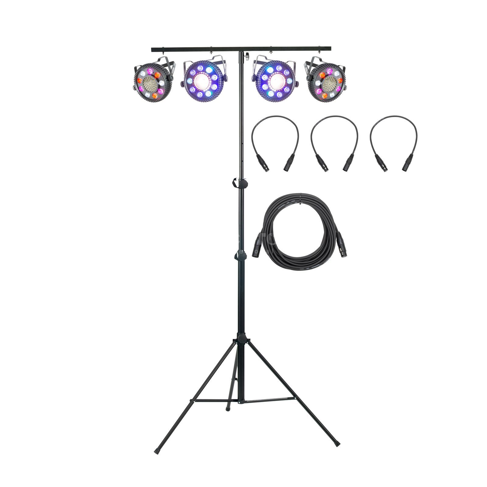LightmaXX LED Mega PAR 64 Tour - Set Produktbild