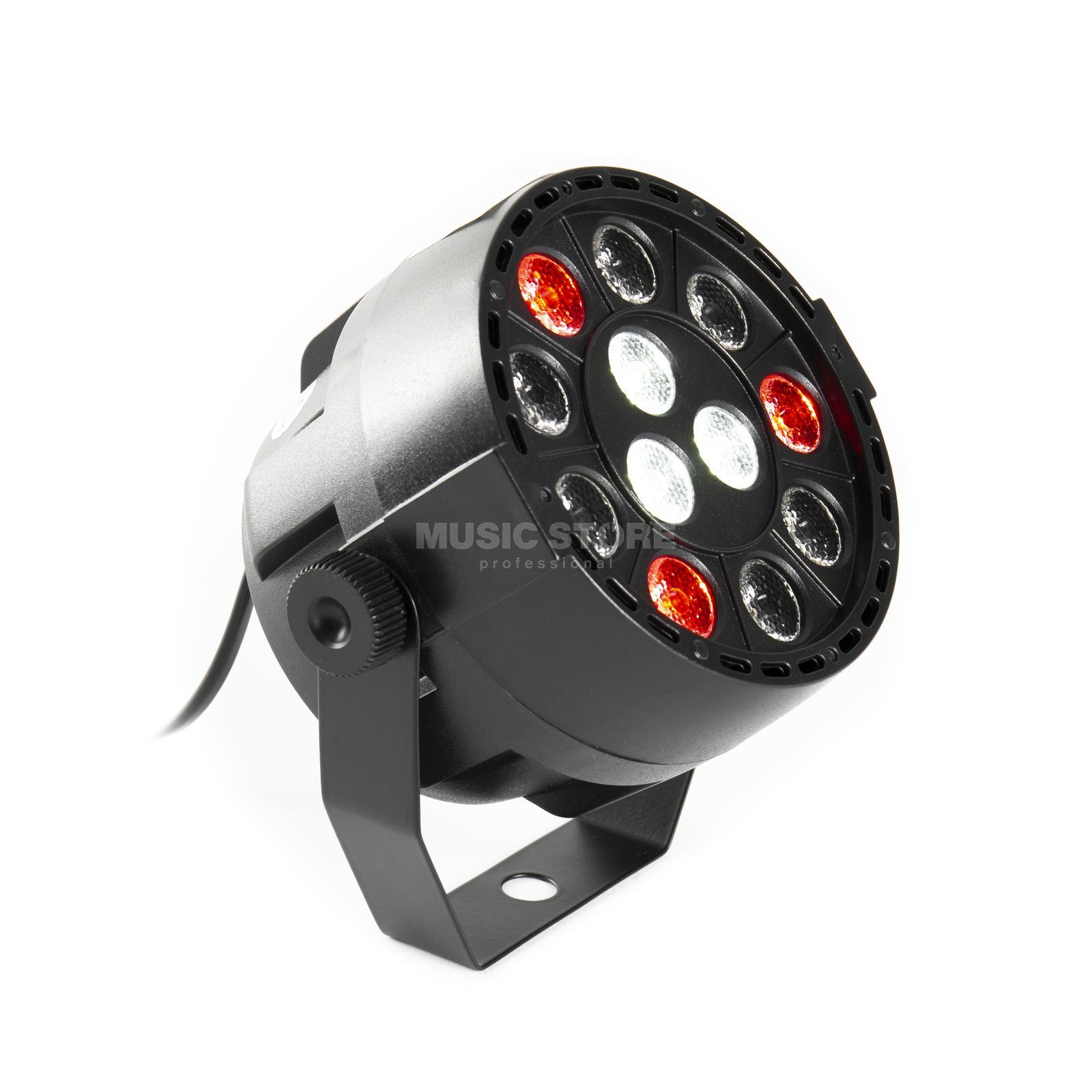 lightmaXX LED NANO PAR black 12×1W LED RGBW Produktbild