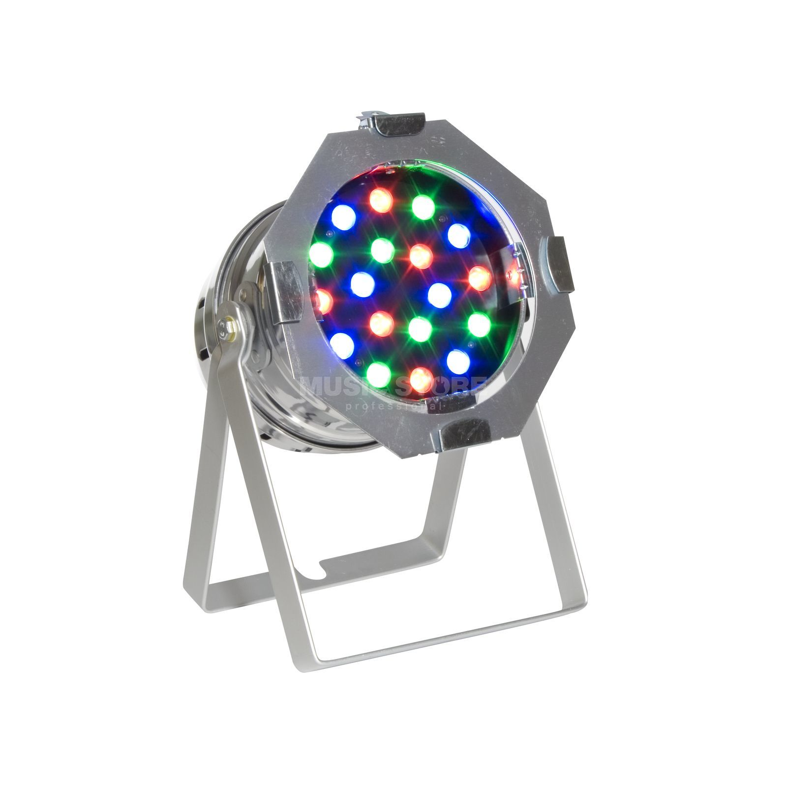 lightmaXX LED PAR 56 HighPower MKII 18x1W RGB LEDs, polished short Produktbillede