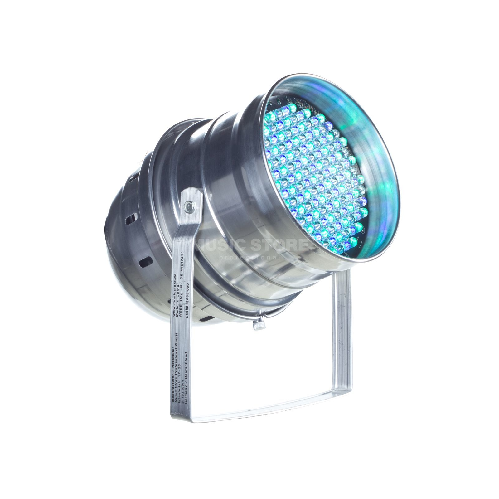 lightmaXX LED PAR 64 ECO 10mm Silver 151 RGB LEDs Produktbild