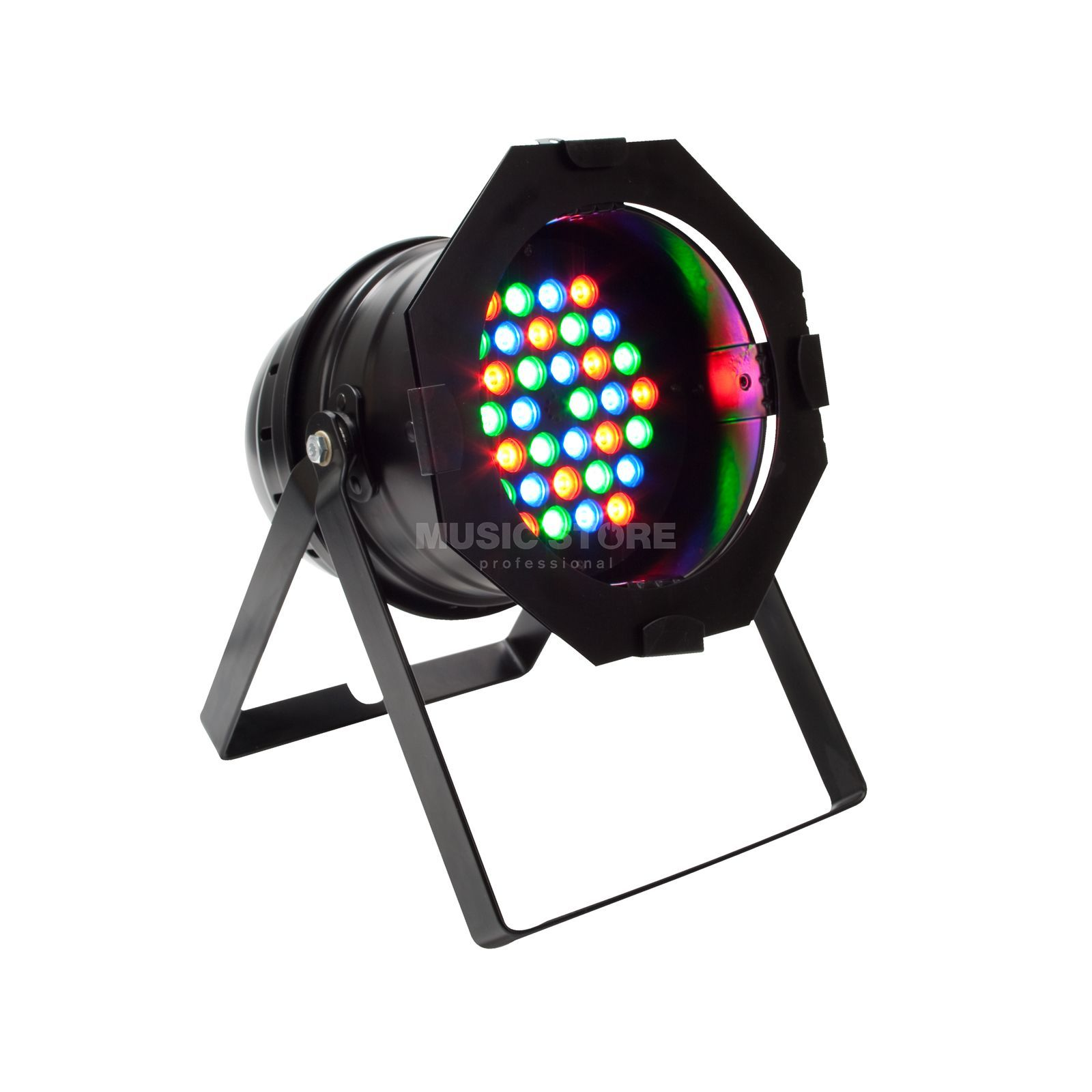 lightmaXX LED PAR 64 HP black MKII 36x 1W RGB LEDs Produktbild
