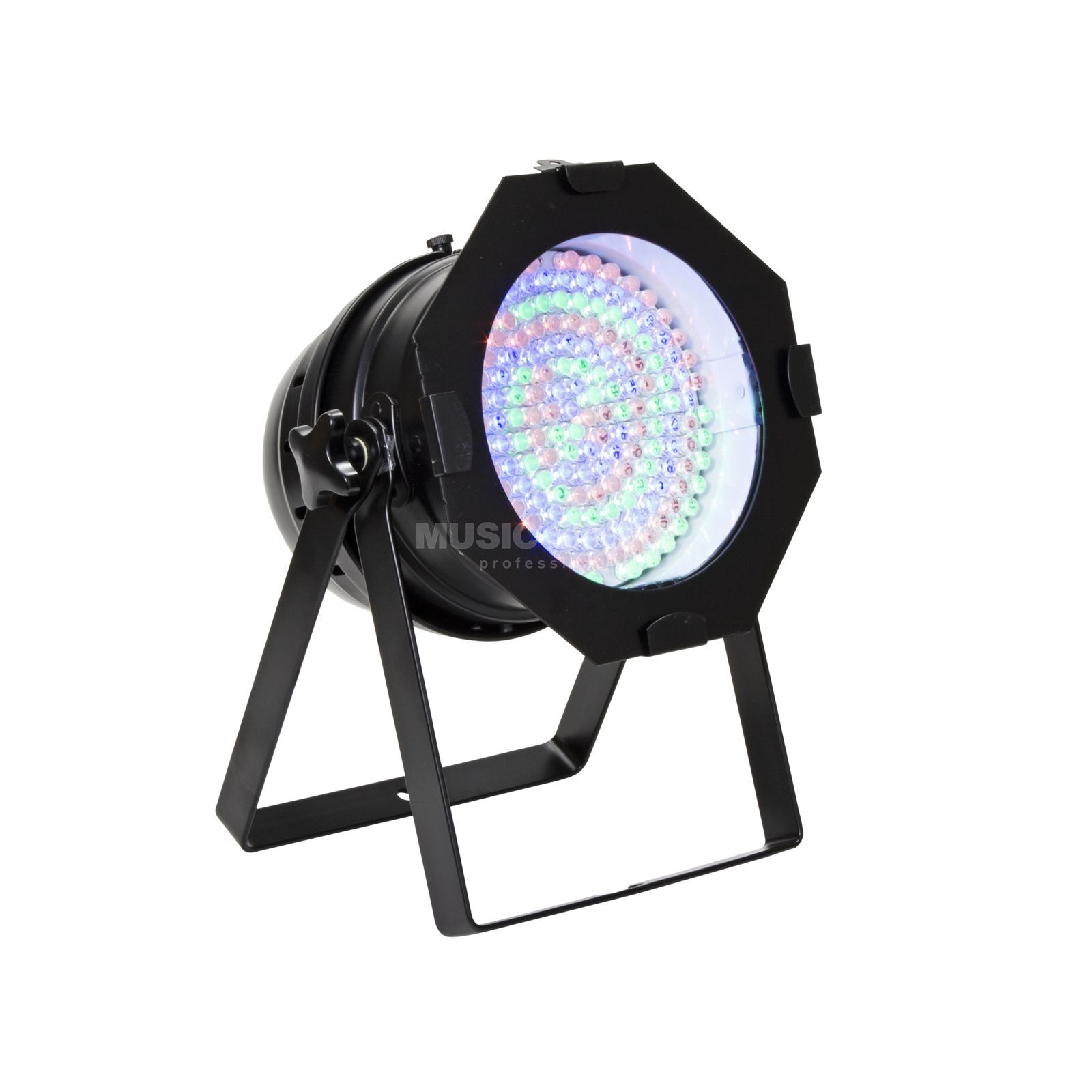lightmaXX LED Par 64 RGB Black Short 10mm LEDs Produktbillede