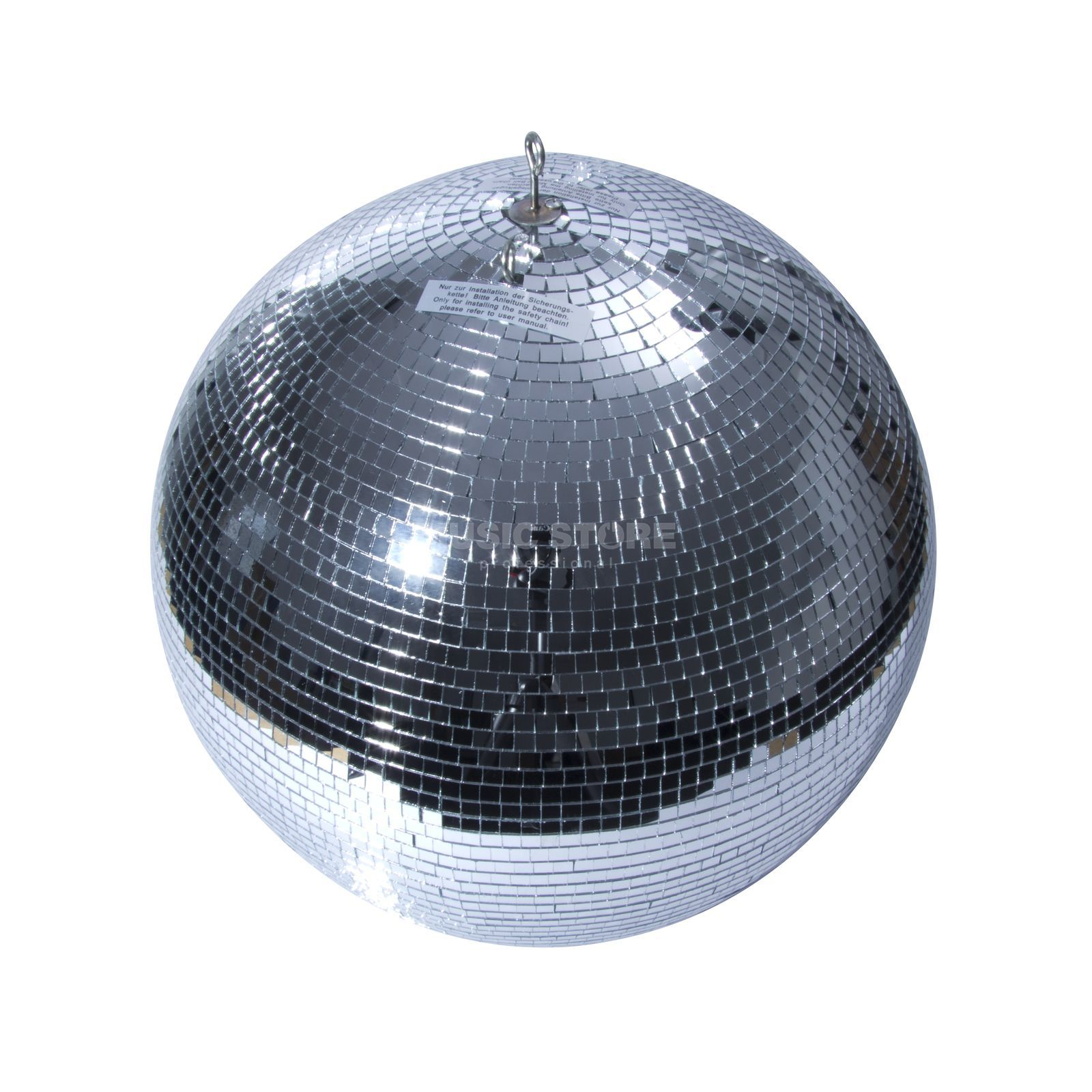 lightmaXX Mirror Ball 75cm with safety eyelet Produktbillede