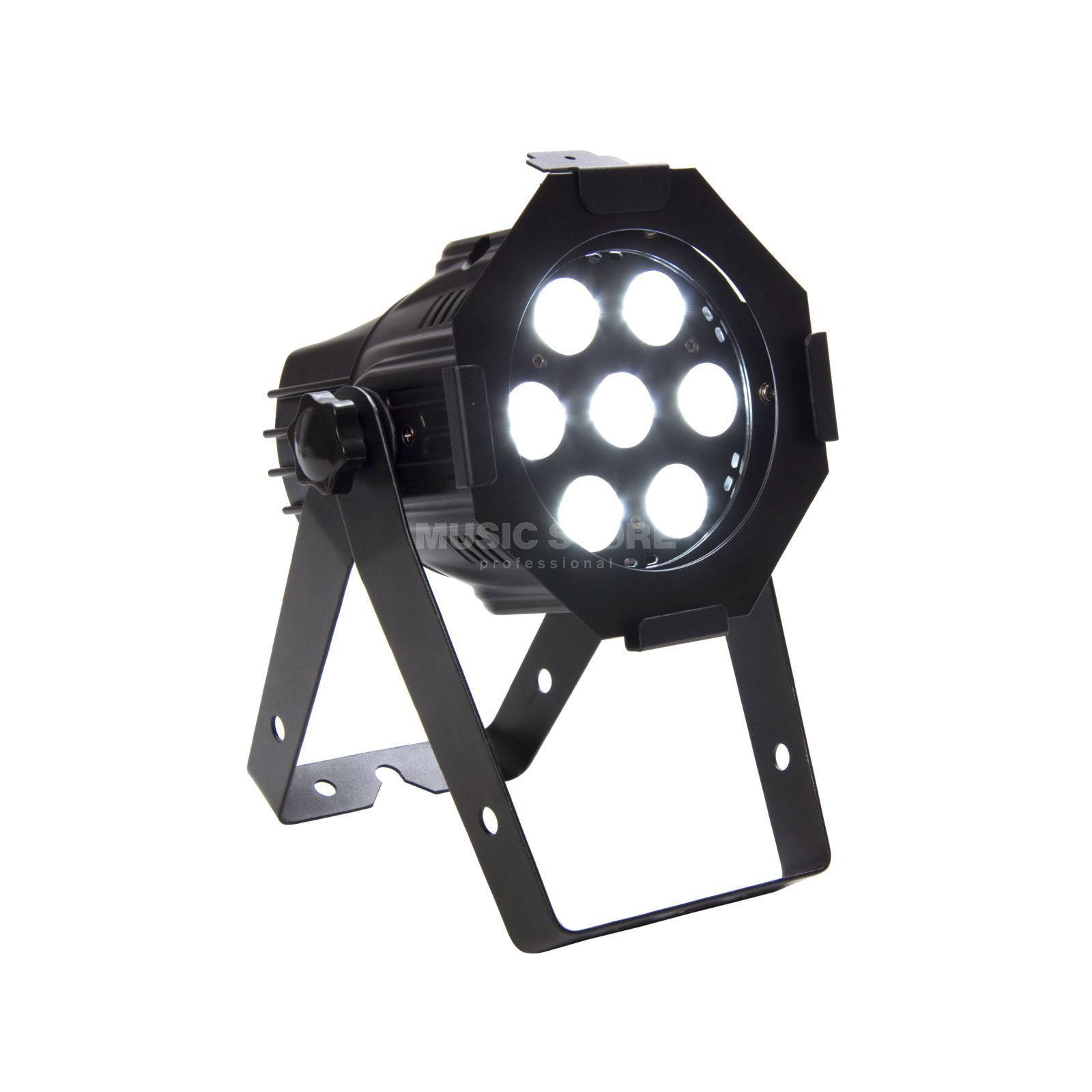 lightmaXX Platinum LED MINI PAR QUAD 7x8W RGBW, black Produktbild