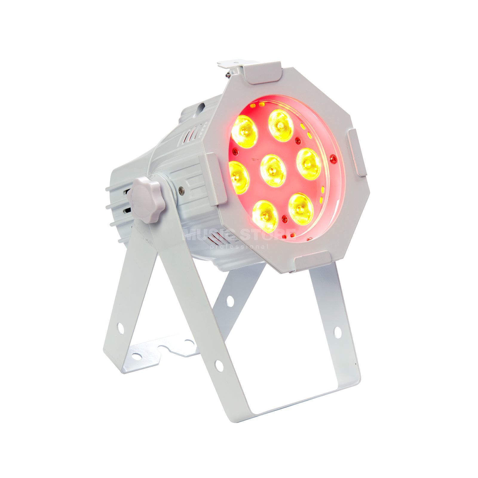 lightmaXX Platinum LED MINI PAR QUAD-W 7x8W RGBW, white Produktbild