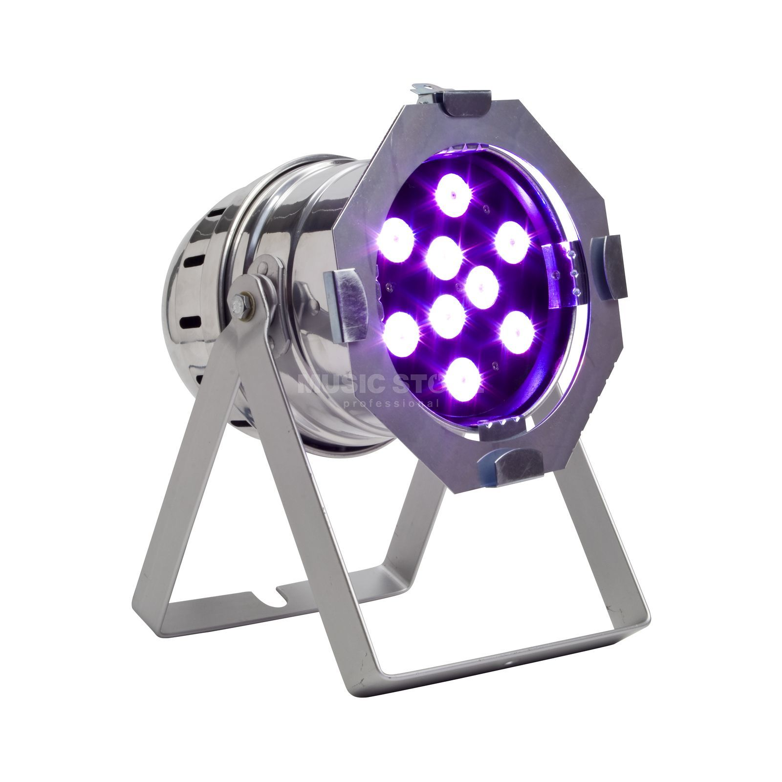 lightmaXX Platinum LED PAR 56 Tri-LED 9x 3 Watt, polish Produktbillede