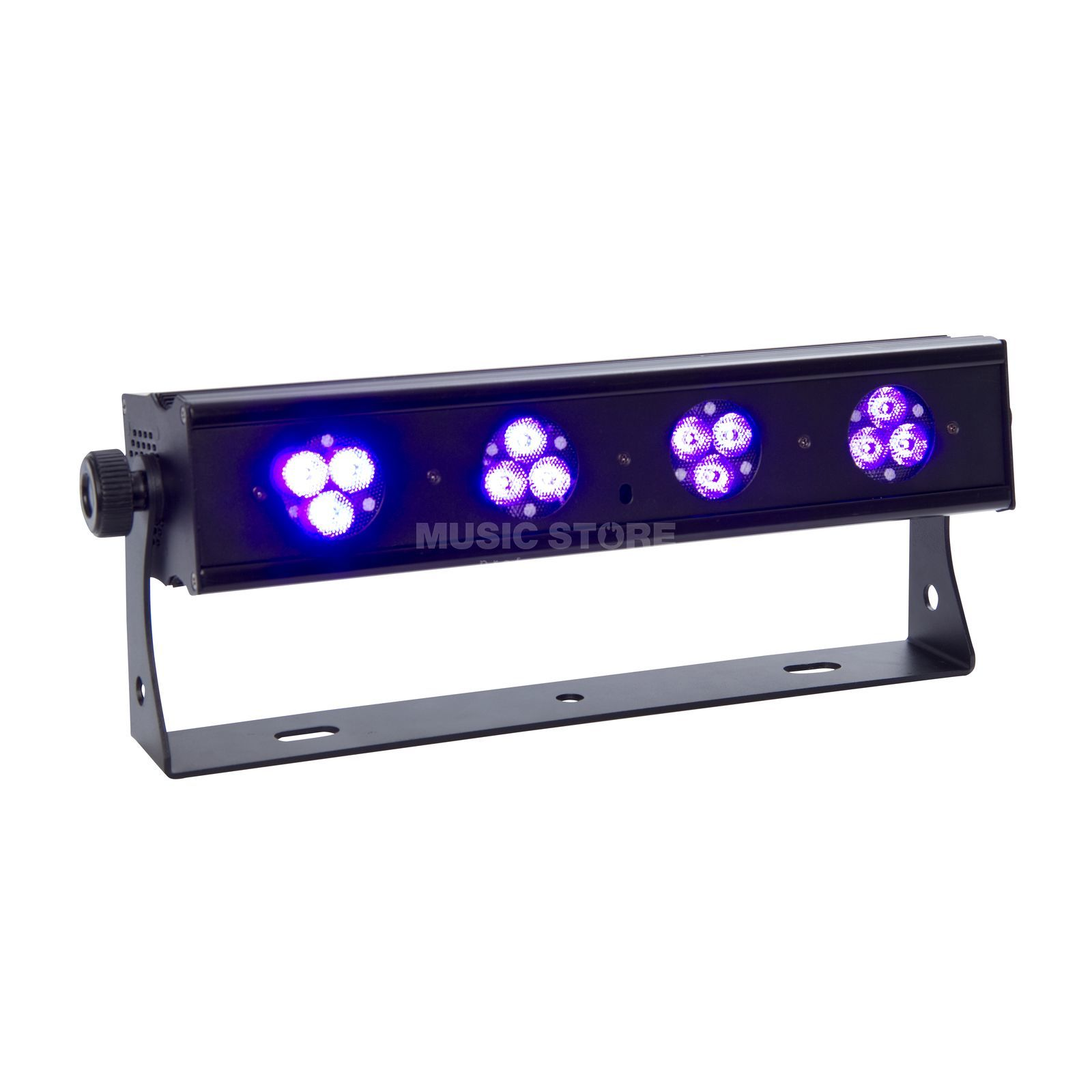 lightmaXX Platinum UV-BAR LED short 12x 1W UV, IR-Remote Control Produktbillede