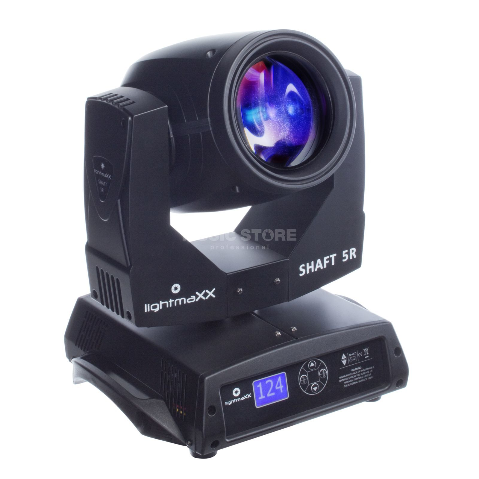 lightmaXX SHAFT 5R Beam Moving-Head im Karton Imagem do produto