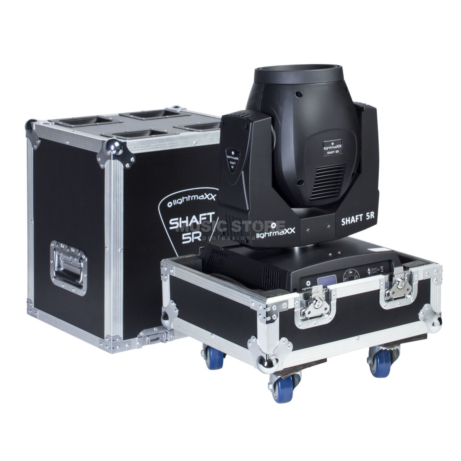 lightmaXX SHAFT 5R inkl. Single Case Beam Moving-Head im Case Produktbild