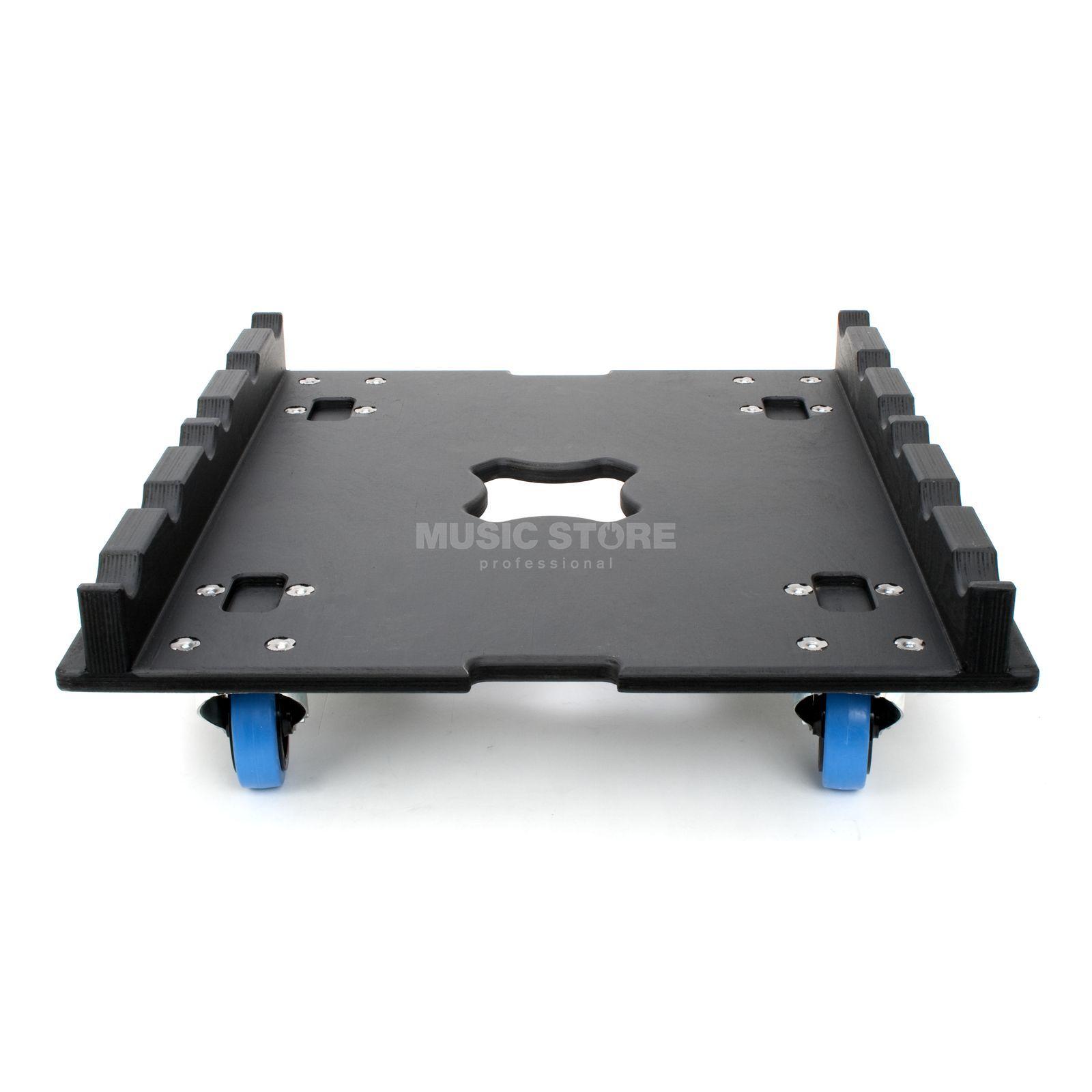 truss rollbrett 600 x 600 100mm rollen,blau,18mm mp-holz