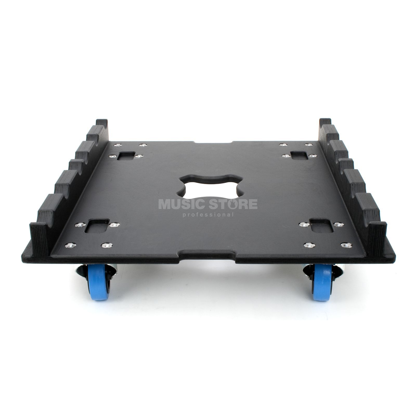 lightmaXX Truss wheel board 600 x 600 100mm wheels, blue Produktbillede