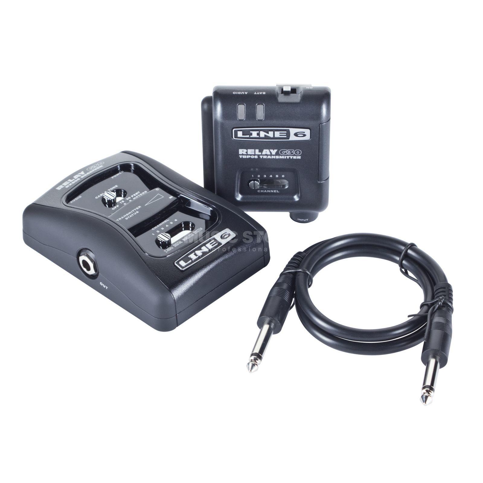 line 6 relay g30 2 4ghz funkanlage für gitarre und bass