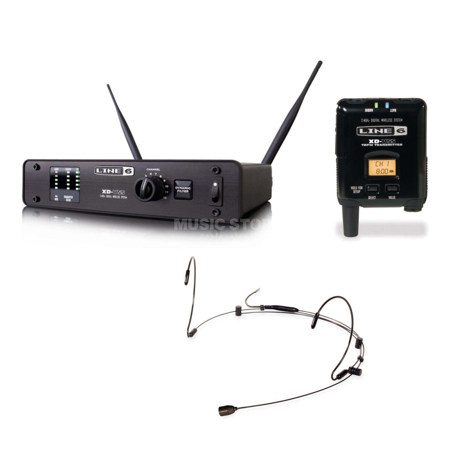 Line 6 XD-V55HS Digital Wireless 2.4 GHz Product Image