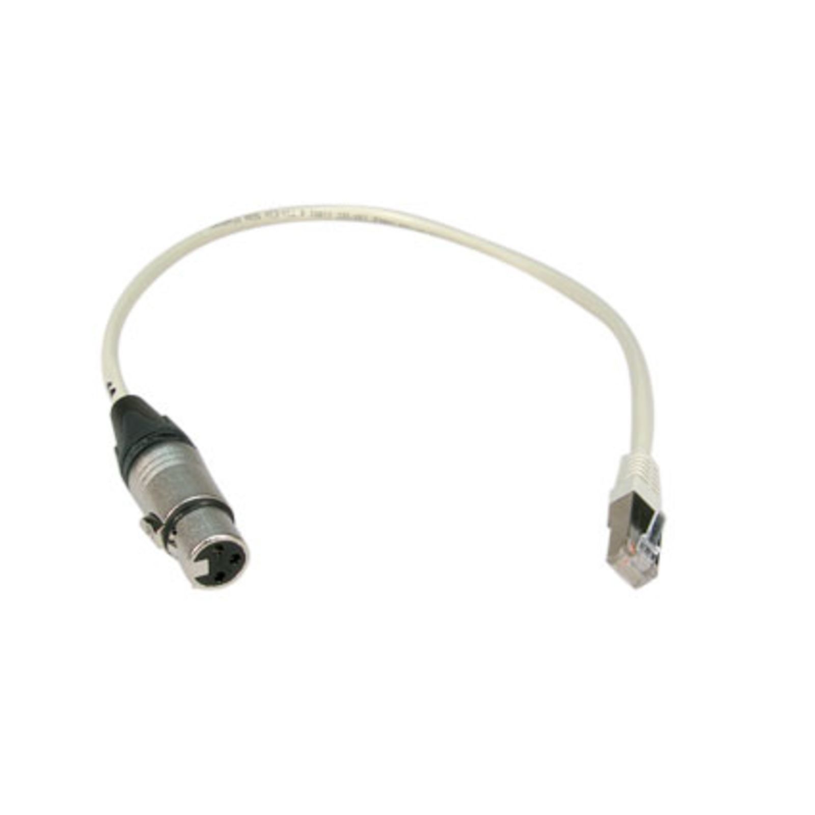 Litecraft Adapter RJ 45 XLR 3-pol female -> CAT 5 0,5m Produktbild