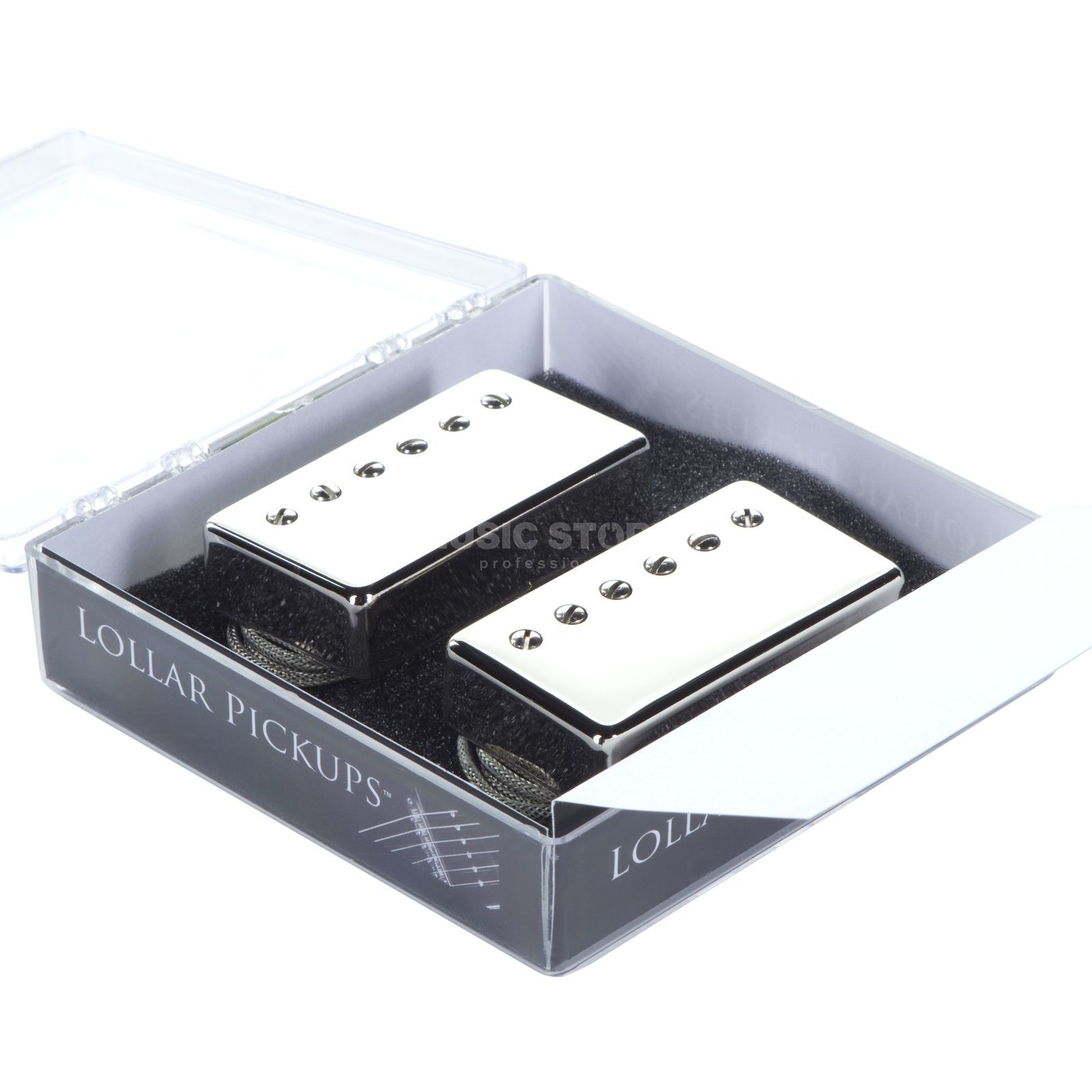 Lollar Guitars Inc. El Rayo Humbucker Set Nickel Produktbillede