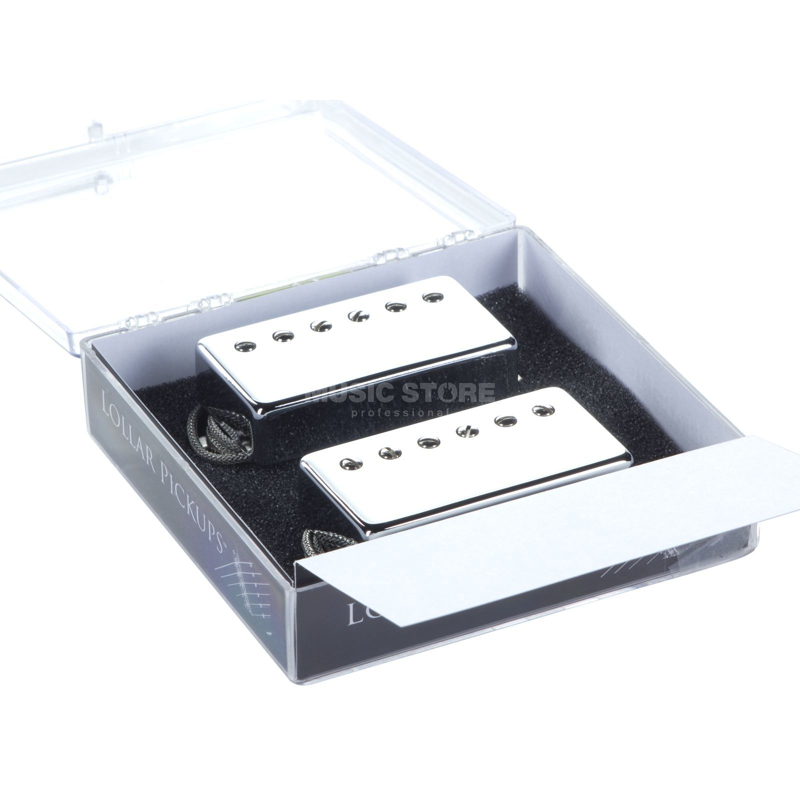Lollar Guitars Inc. Imperial Humbucker Set Chrome Std wound Produktbild