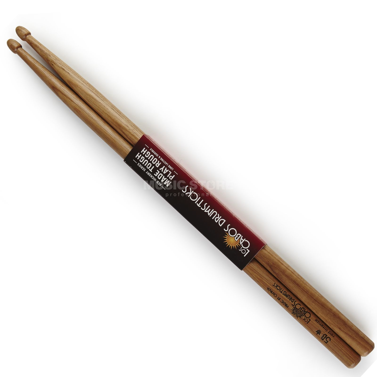 Los Cabos 5B Red Hickory Intense Sticks, Wood Tip Produktbild
