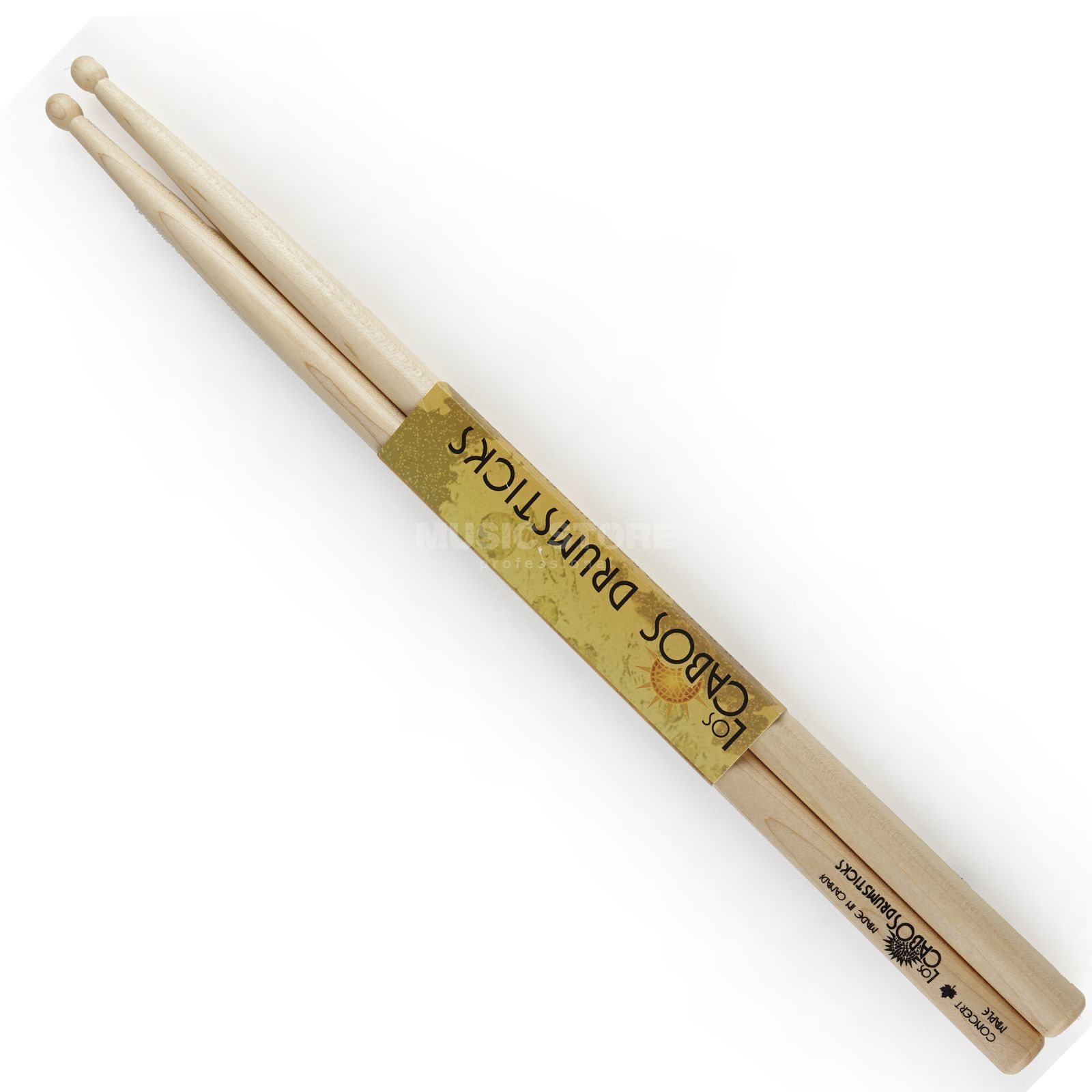Los Cabos Concert Maple Sticks, Wood Tip Produktbillede