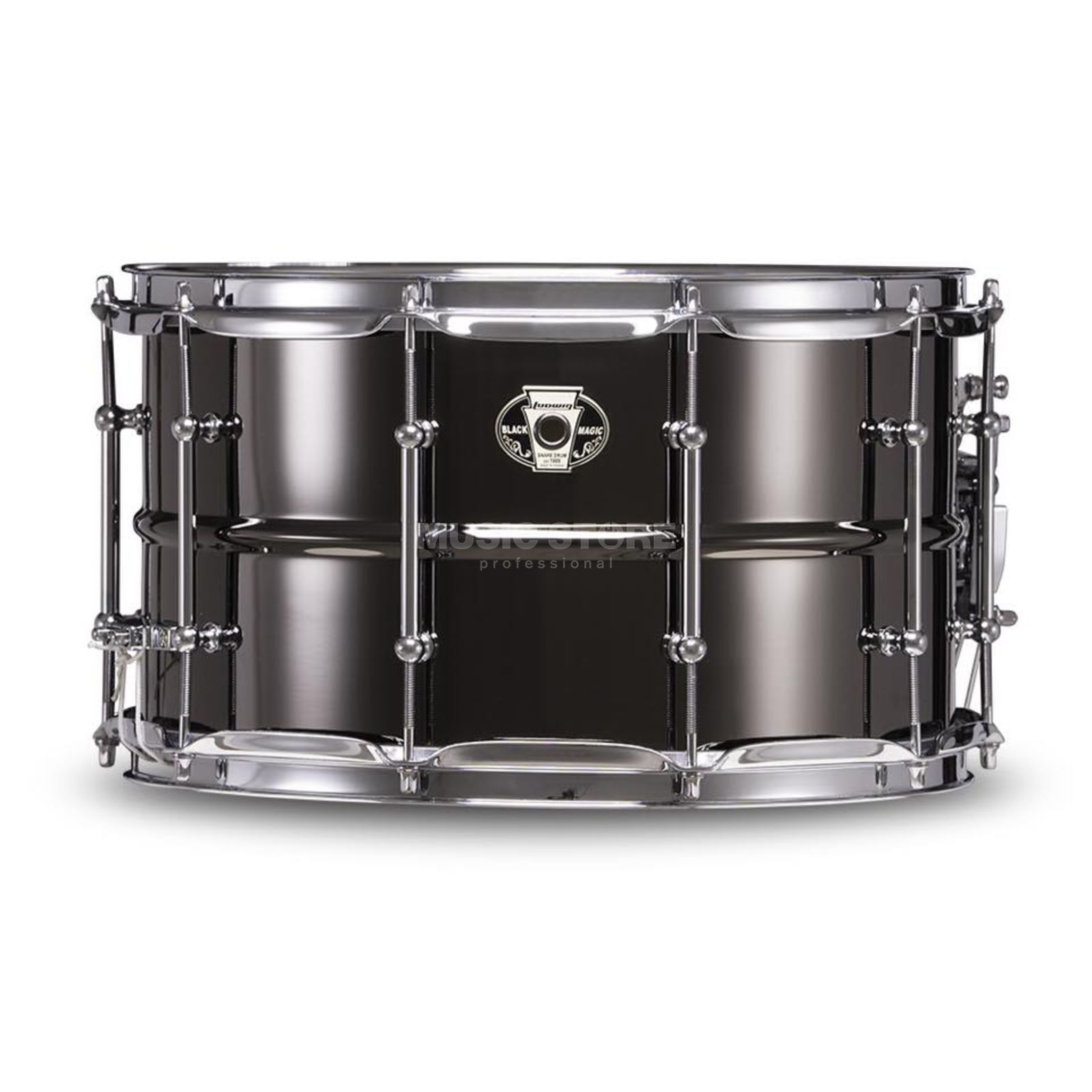 "Ludwig Black Magic Snare LW0814C, 14""x8"" Chrome Produktbild"