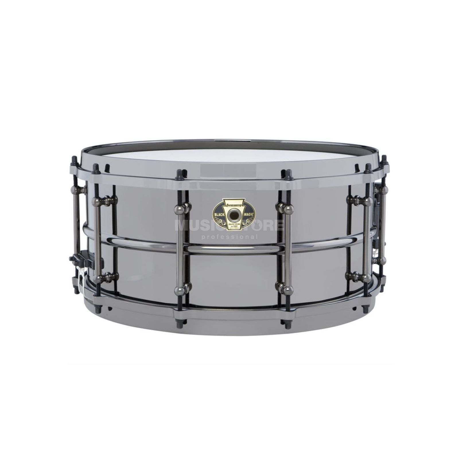 "Ludwig Black Magic Snare LW6514, 14""x6,5"" Produktbild"