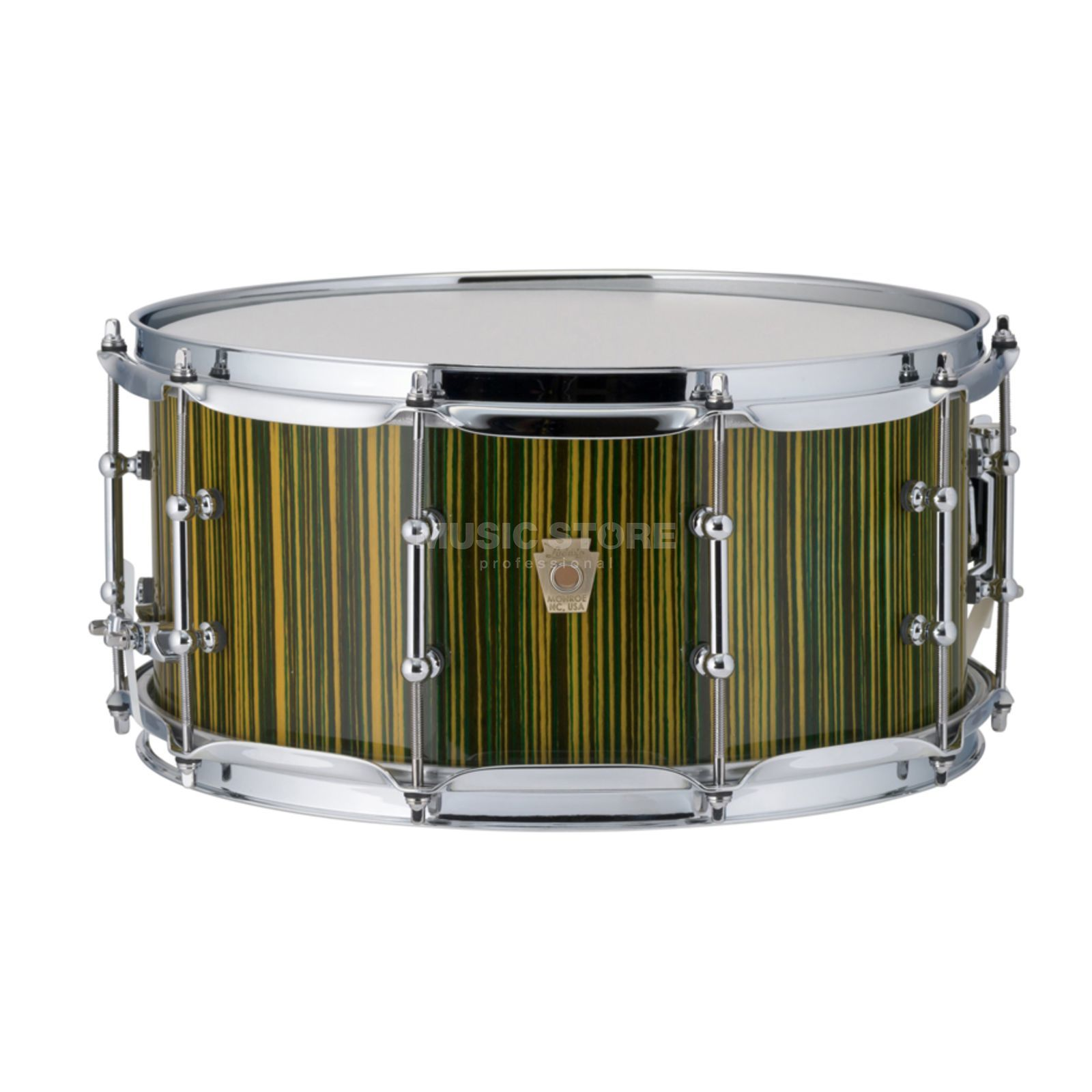 "Ludwig Classic Maple Electrostatic Snare 14""x6,5"", Yellow Productafbeelding"
