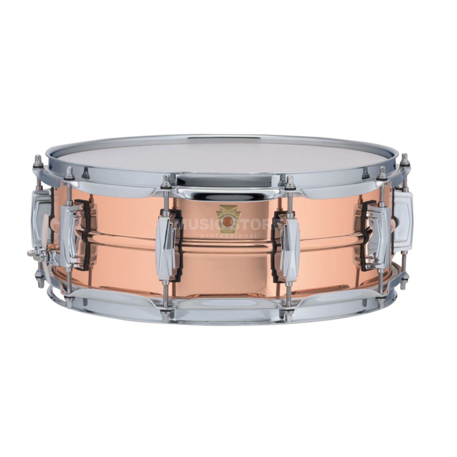 "Ludwig Copper Phonic Snare LC660, 14""x5"", Smooth Copper Produktbillede"