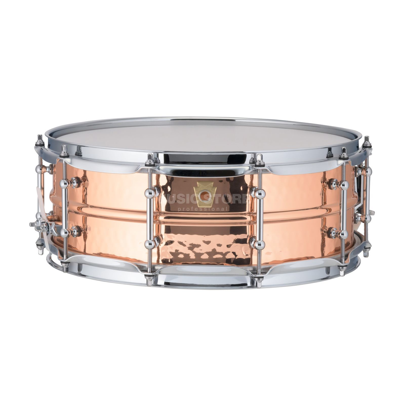 "Ludwig Copper Phonic Snare LC660T, 14""x5"", Smooth Copper Produktbillede"