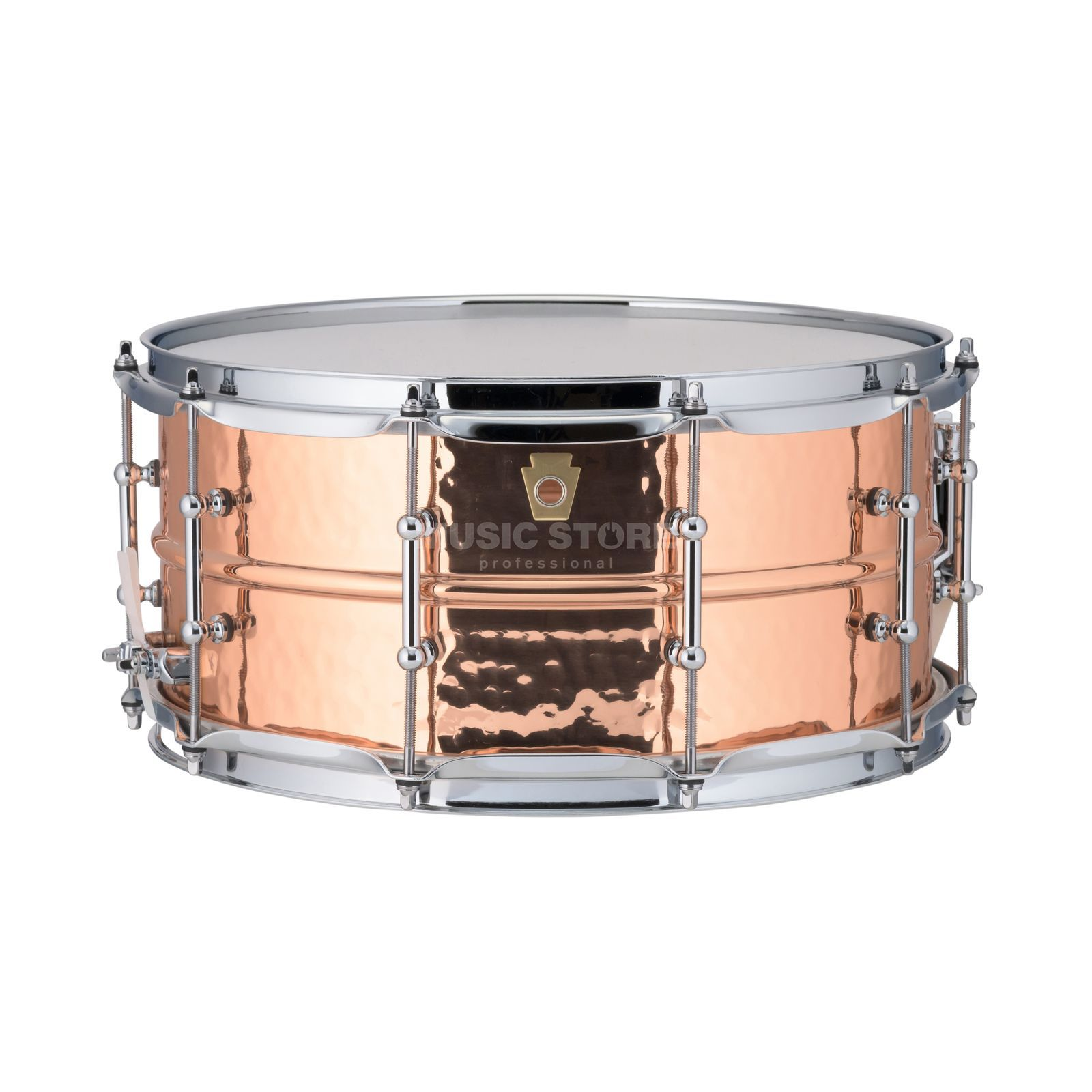"Ludwig Copper Phonic Snare LC662T, 14""x6,5"", Smooth Copper Product Image"