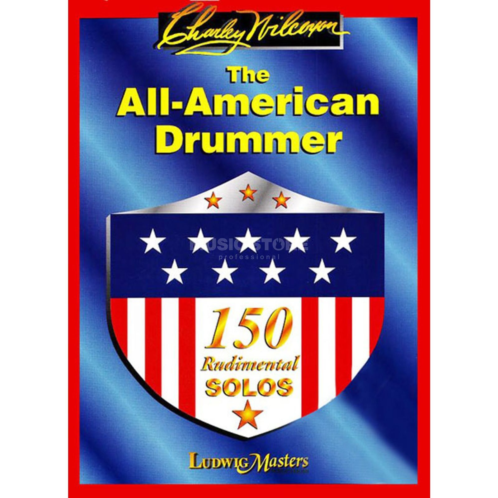 Ludwig Music The All American Drummer 150 Rudimental Solos Produktbillede