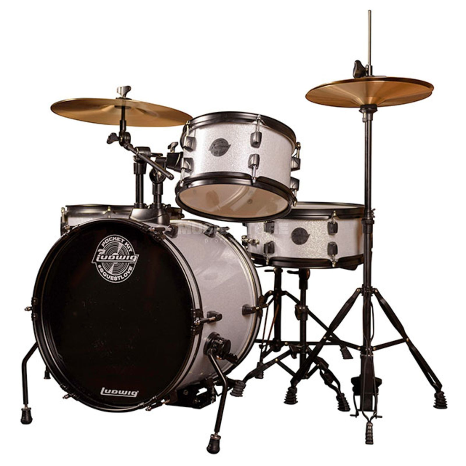Ludwig Pocket Kit, Silver Sparkle Produktbild
