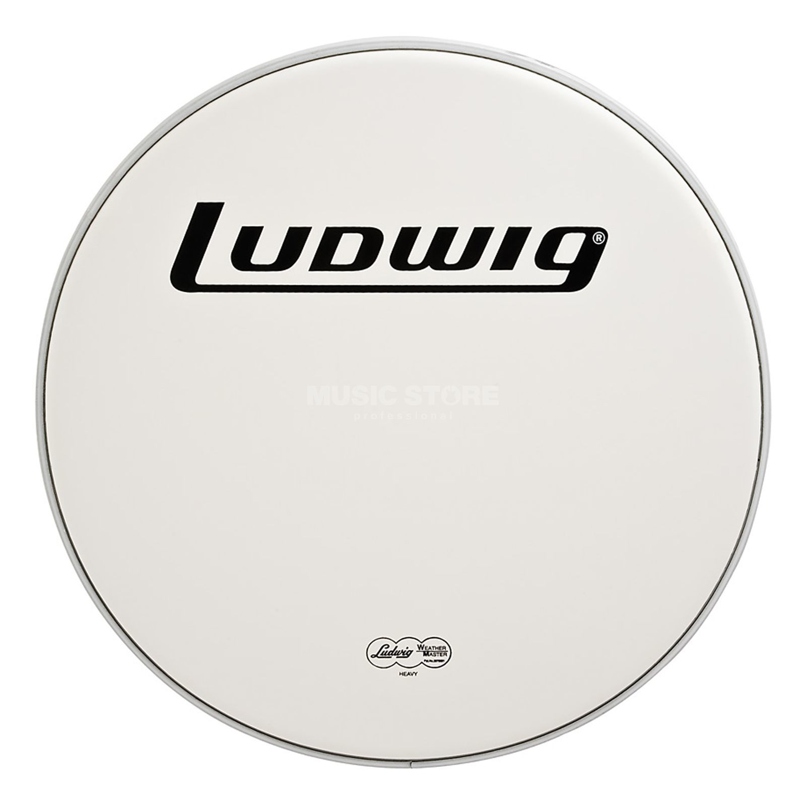 "Ludwig Weather Master Coated 14"", Heavy Produktbillede"