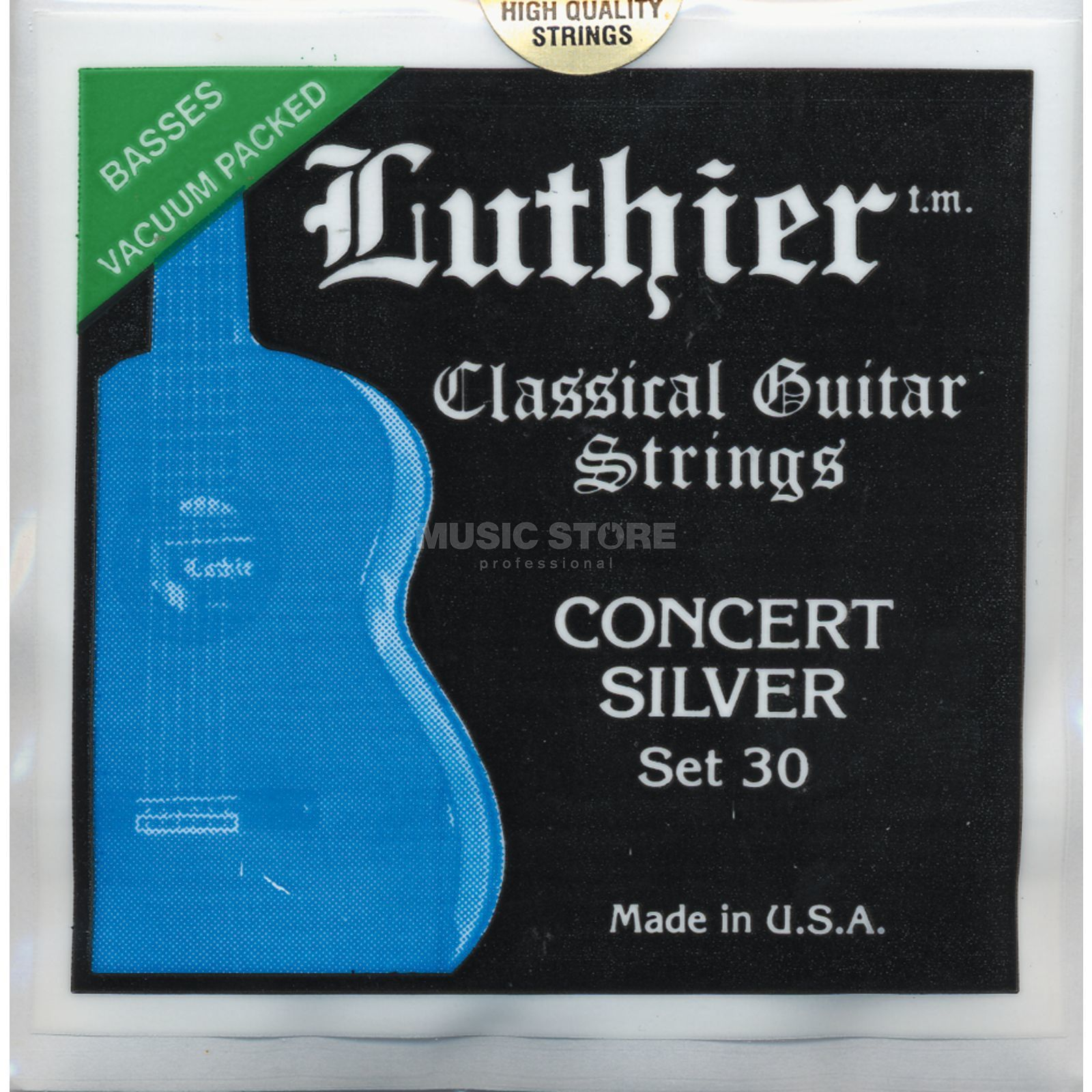 Luthier Concert Silver #30 High Tension Produktbild
