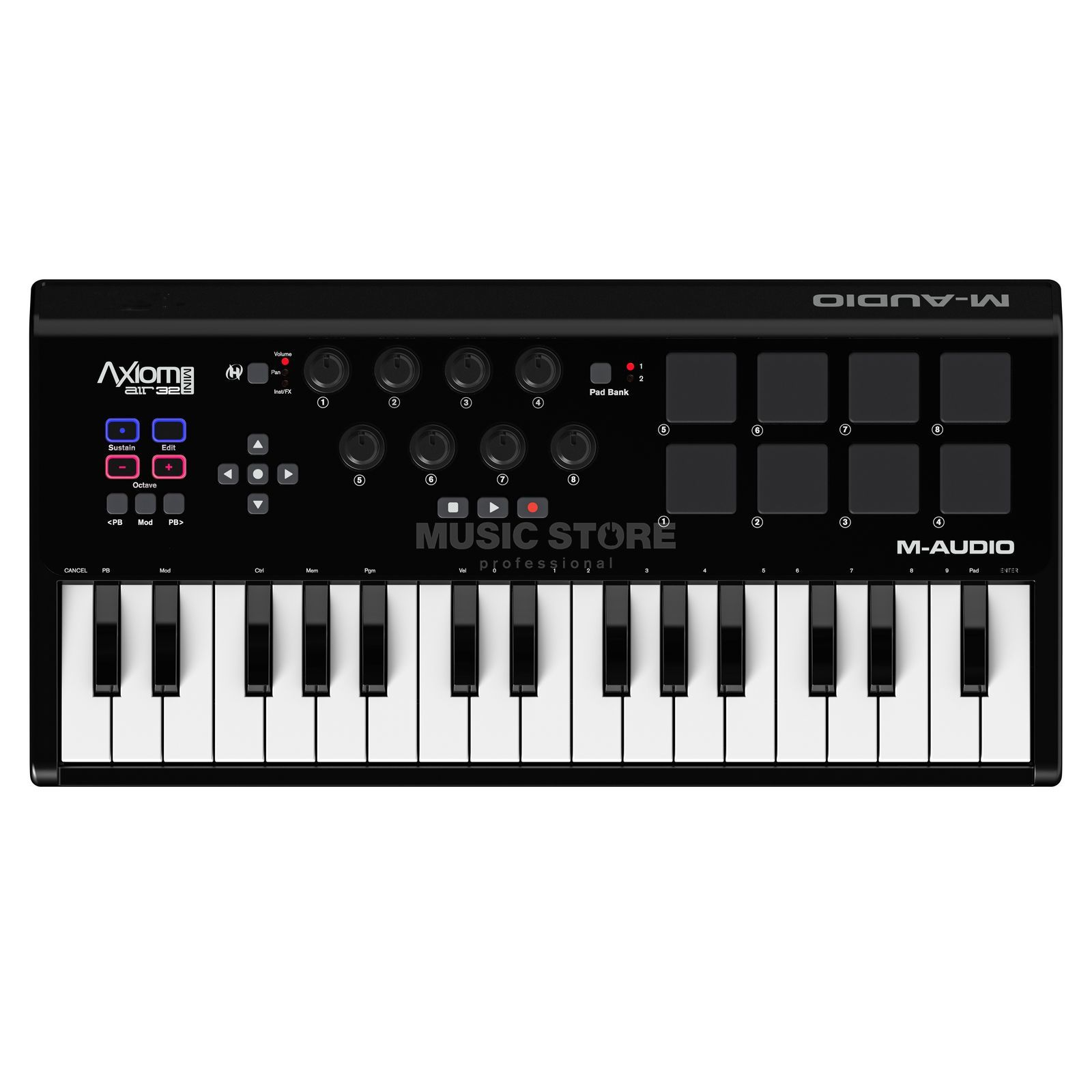 M-Audio Axiom A.I.R. Mini 32 Mini Controller Keyboard Produktbillede