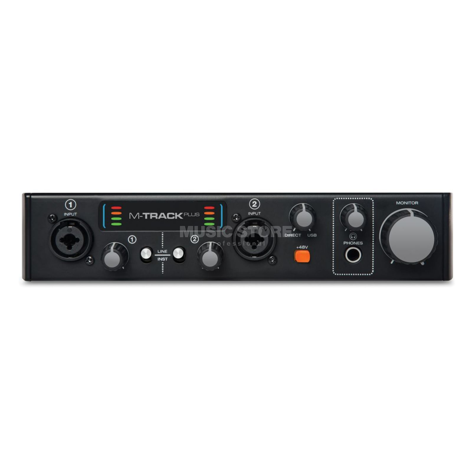 M-Audio M-Track MKII-Plus USB Audio-Interface Produktbillede
