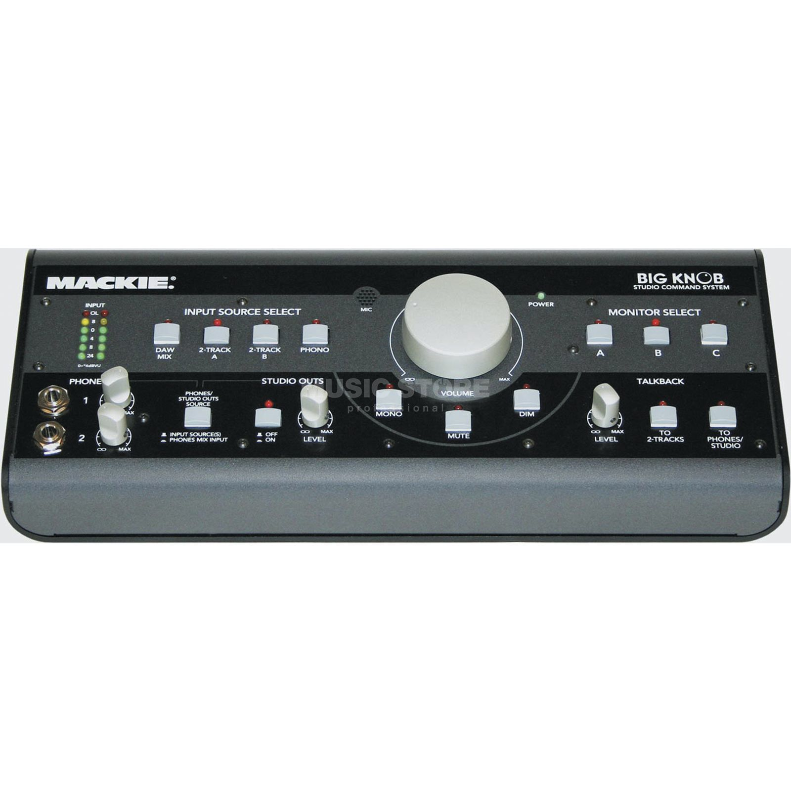 Mackie Big Knob Monitor Switching And  Level Control Box   Produktbillede