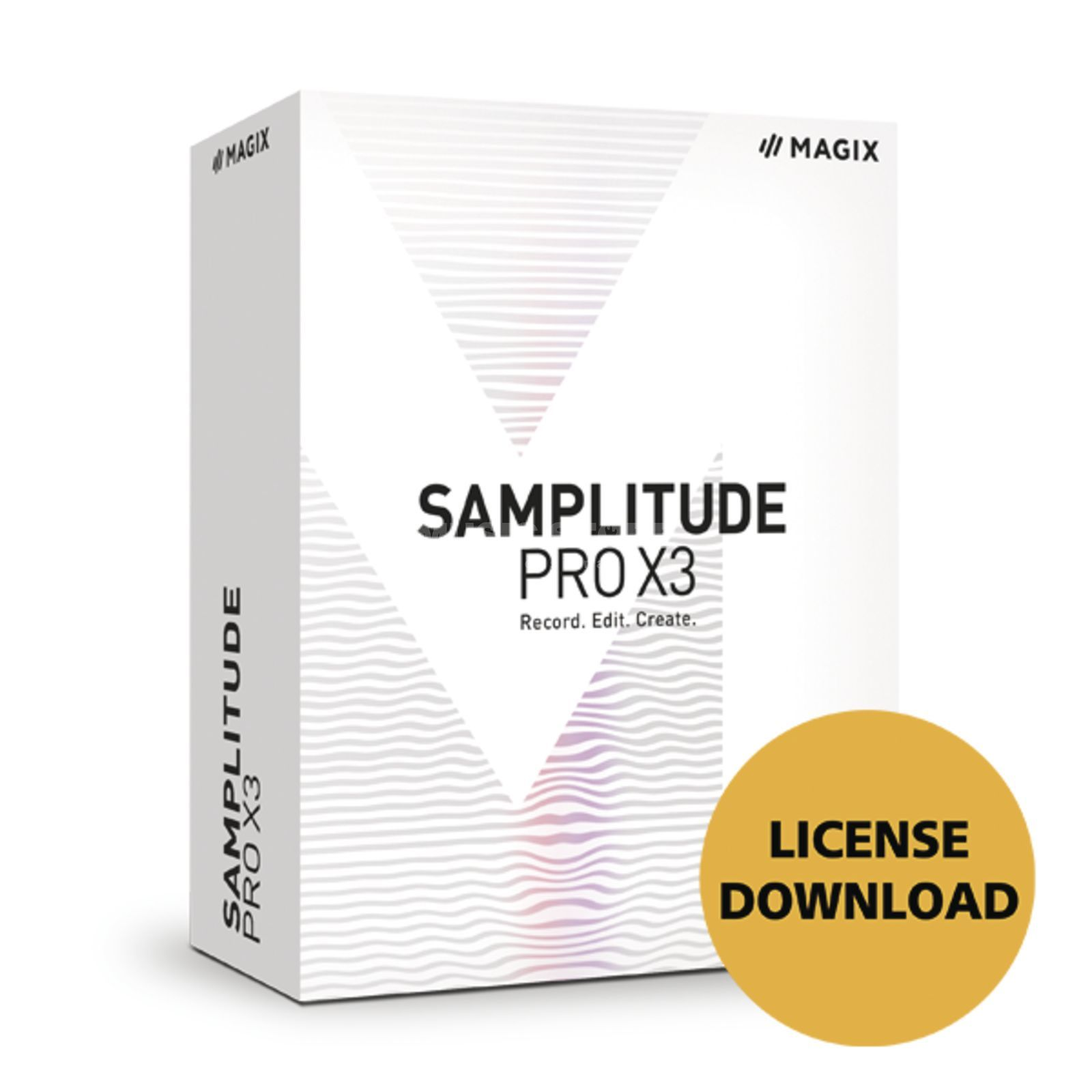 Magix Samplitude Pro X3 (Download) Produktbillede