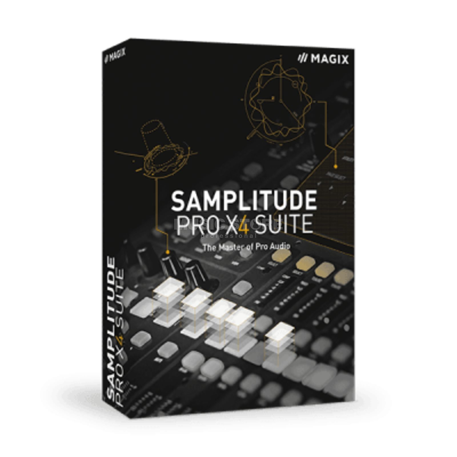 Magix Samplitude Pro X4 Academic License Code Product Image