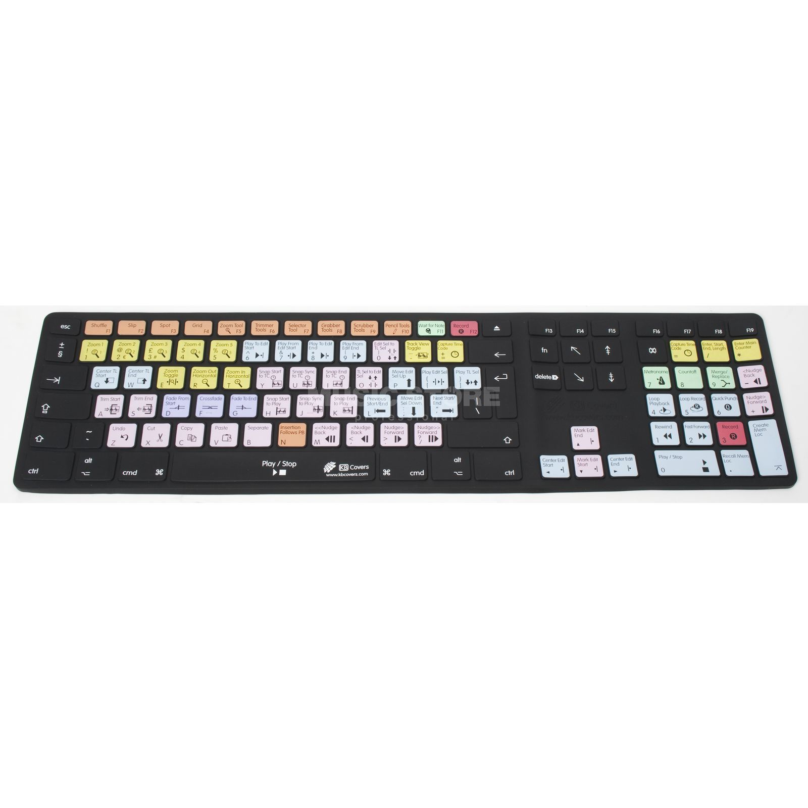 Magma Keyboard Cover ProTools Apple Desktop Alu  QWERTY Produktbild