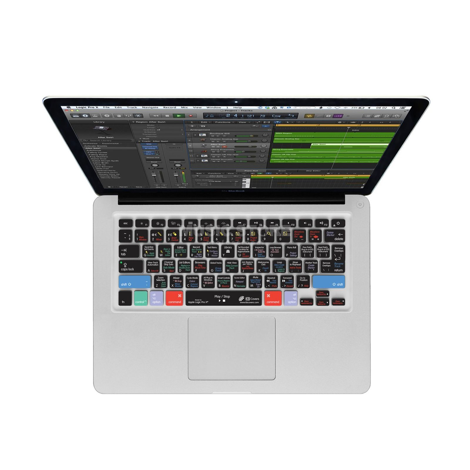 Magma Logic Pro X Keyboard Cover Apple MacBook/Air/Wireless US Produktbild