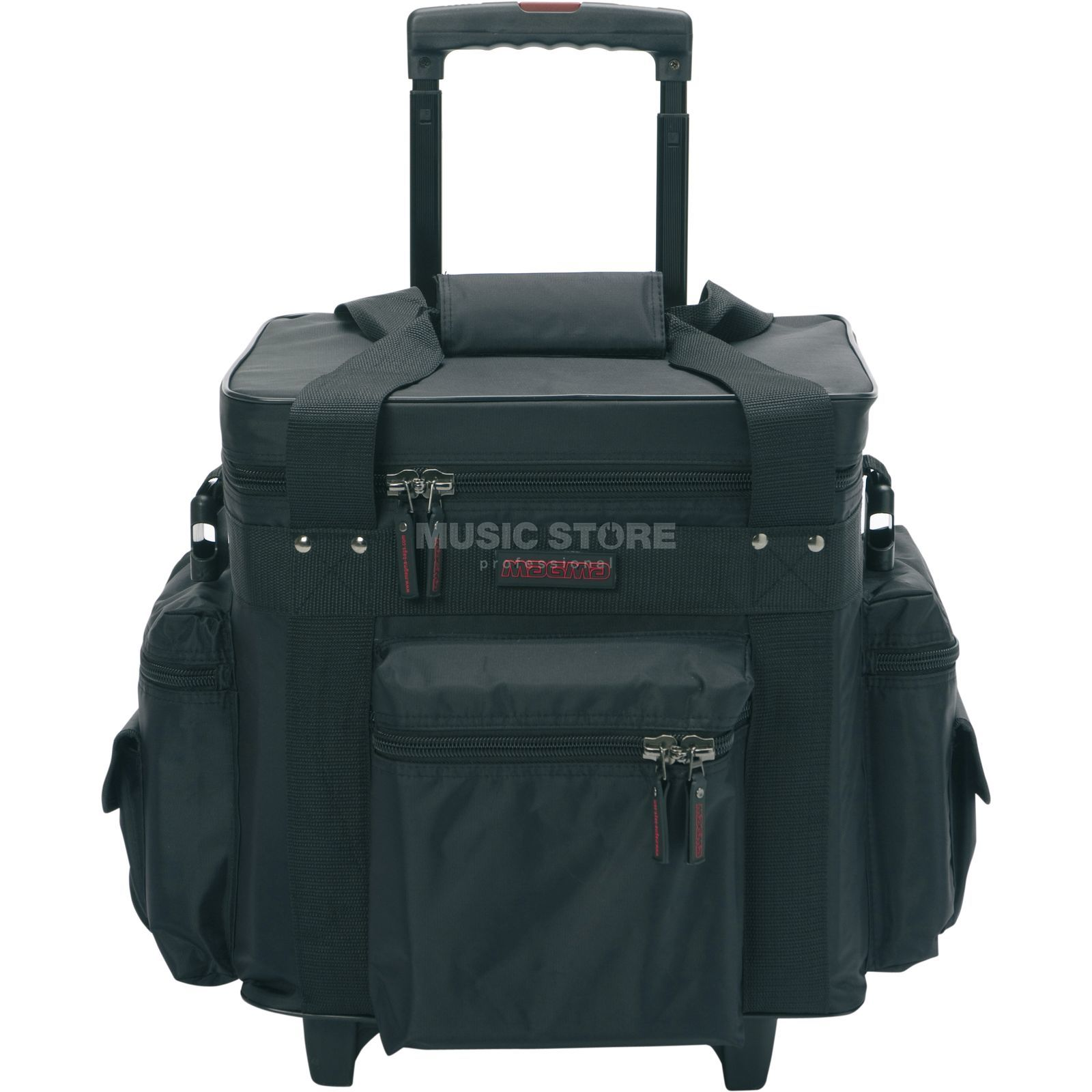 Magma LP-Bag 100 Trolley black/red  Produktbillede