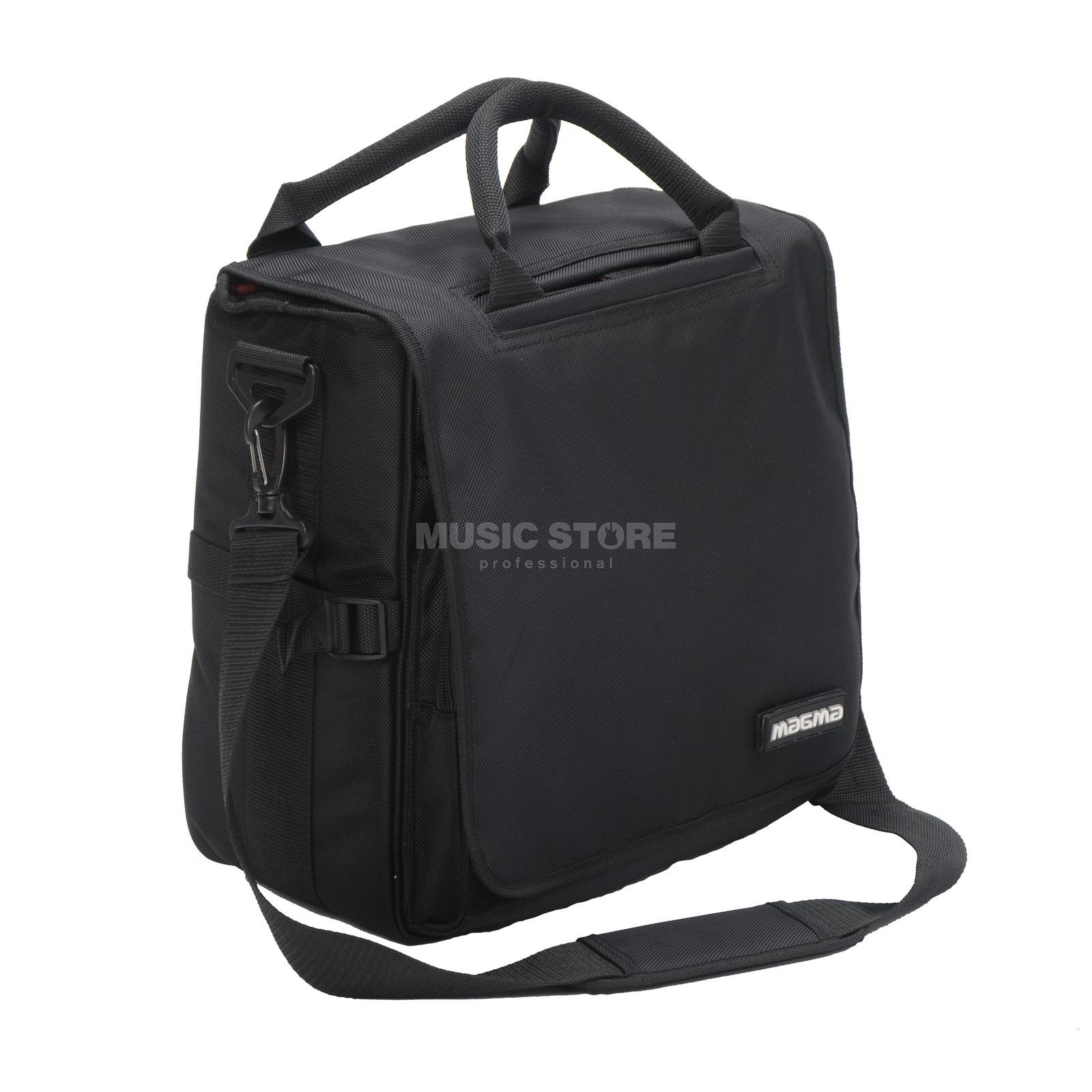 Magma LP Bag 40 Black DJ LP Bag for 80 Vinyls, Pad Produktbillede